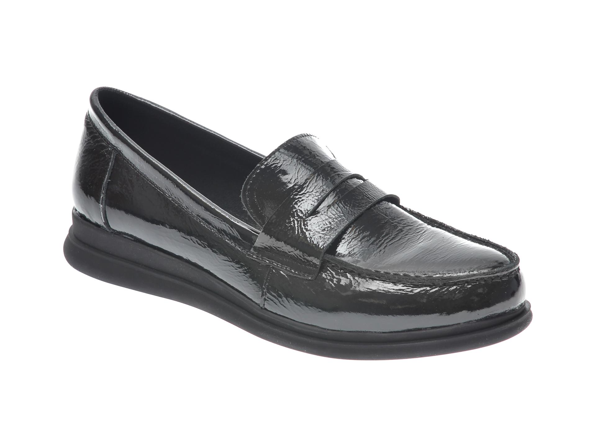 Pantofi FLAVIA PASSINI negri, 1307202, din piele naturala lacuita imagine