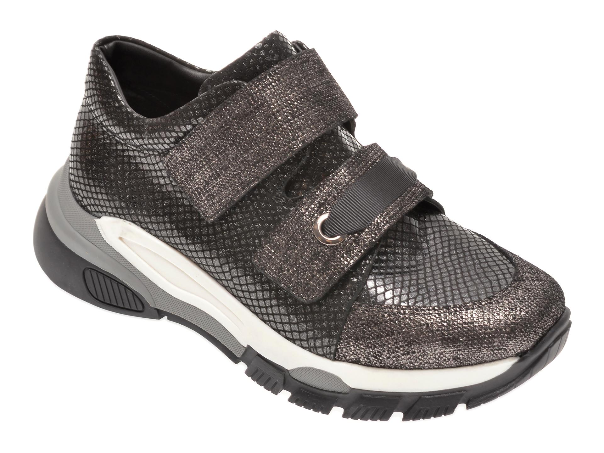 Pantofi FLAVIA PASSINI negri, 135P90, din piele naturala New