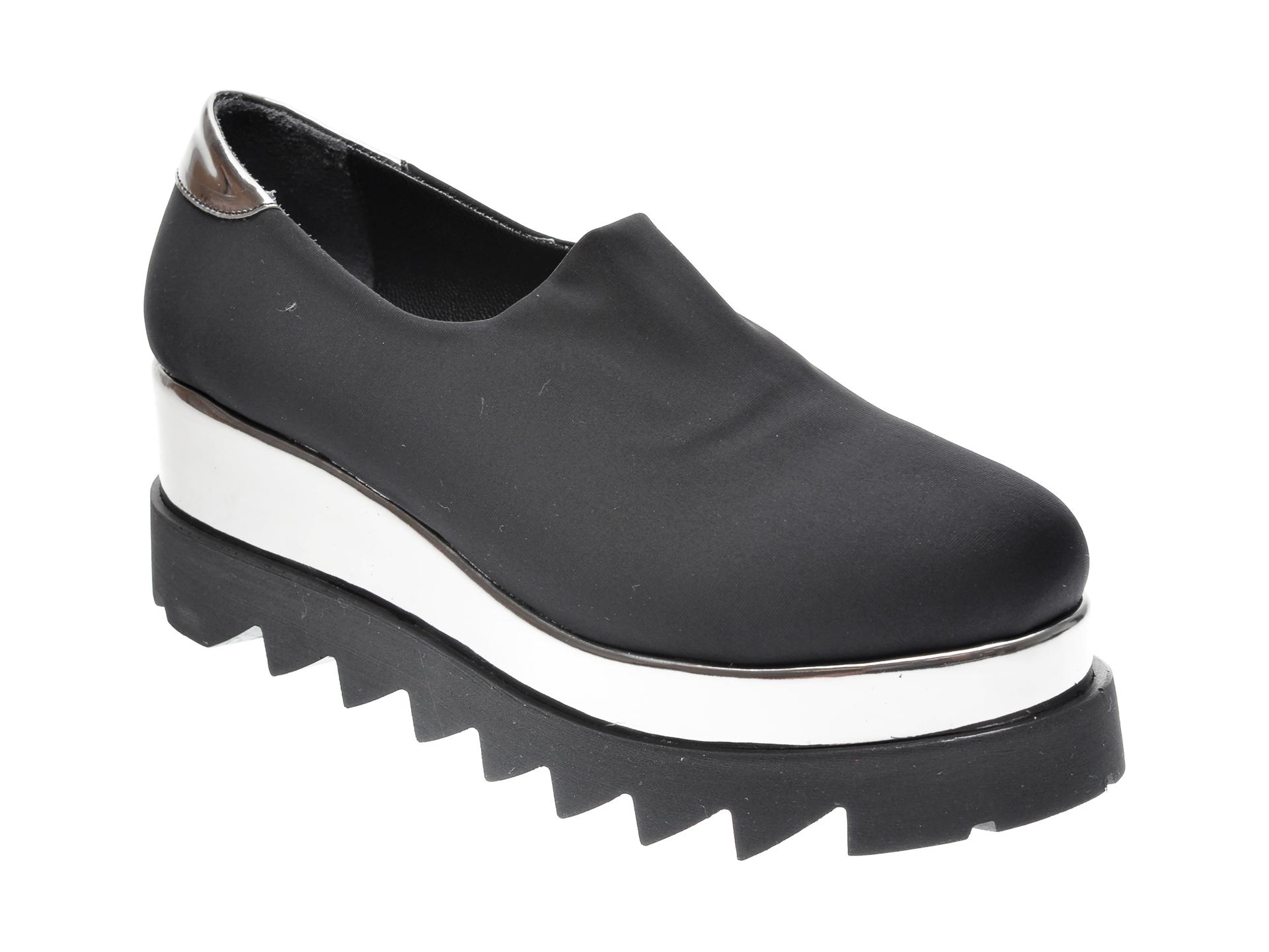 Pantofi FLAVIA PASSINI negri, 1369275, din material textil
