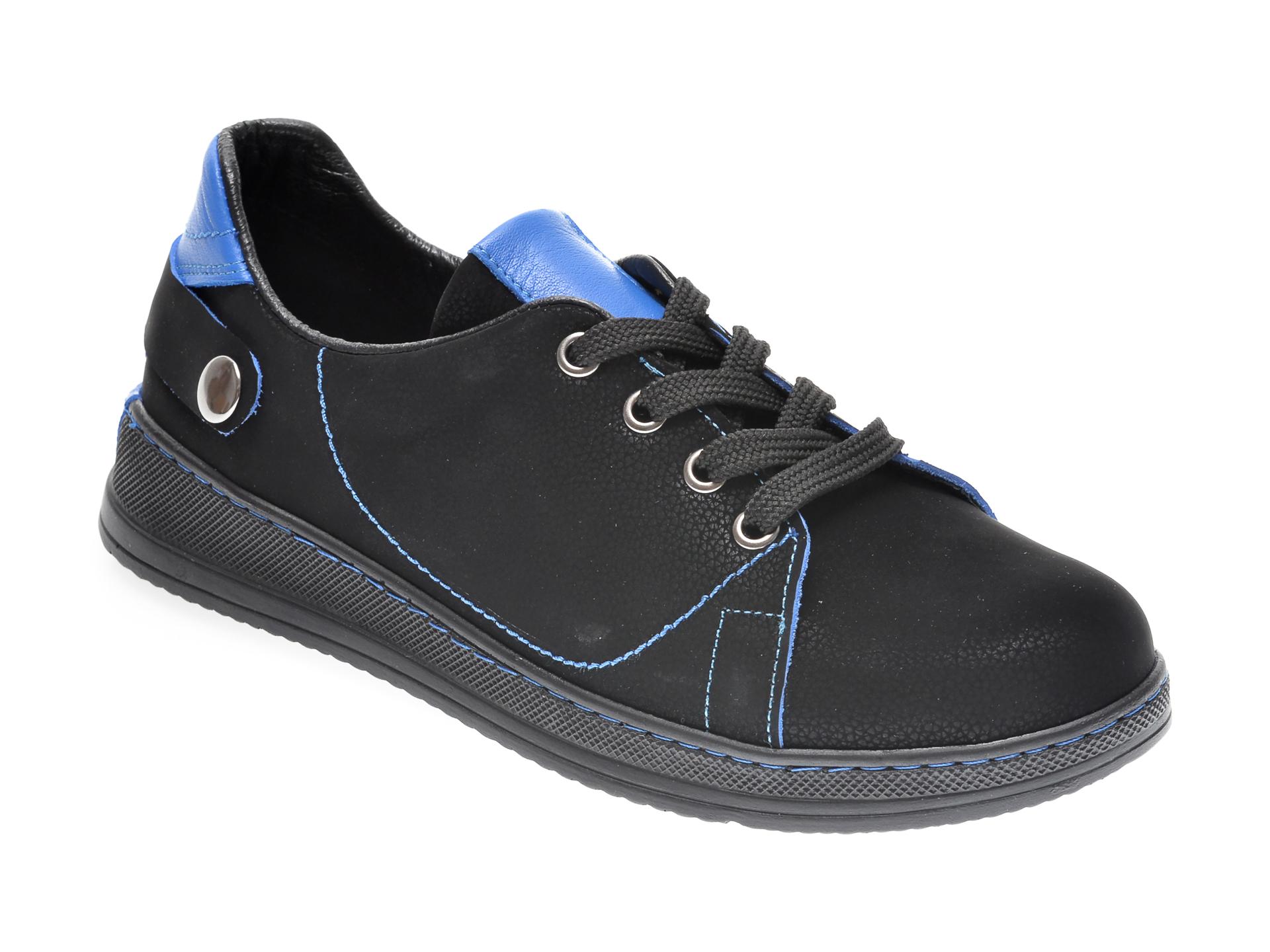 Pantofi FLAVIA PASSINI negri, 1554273, din nabuc imagine otter.ro