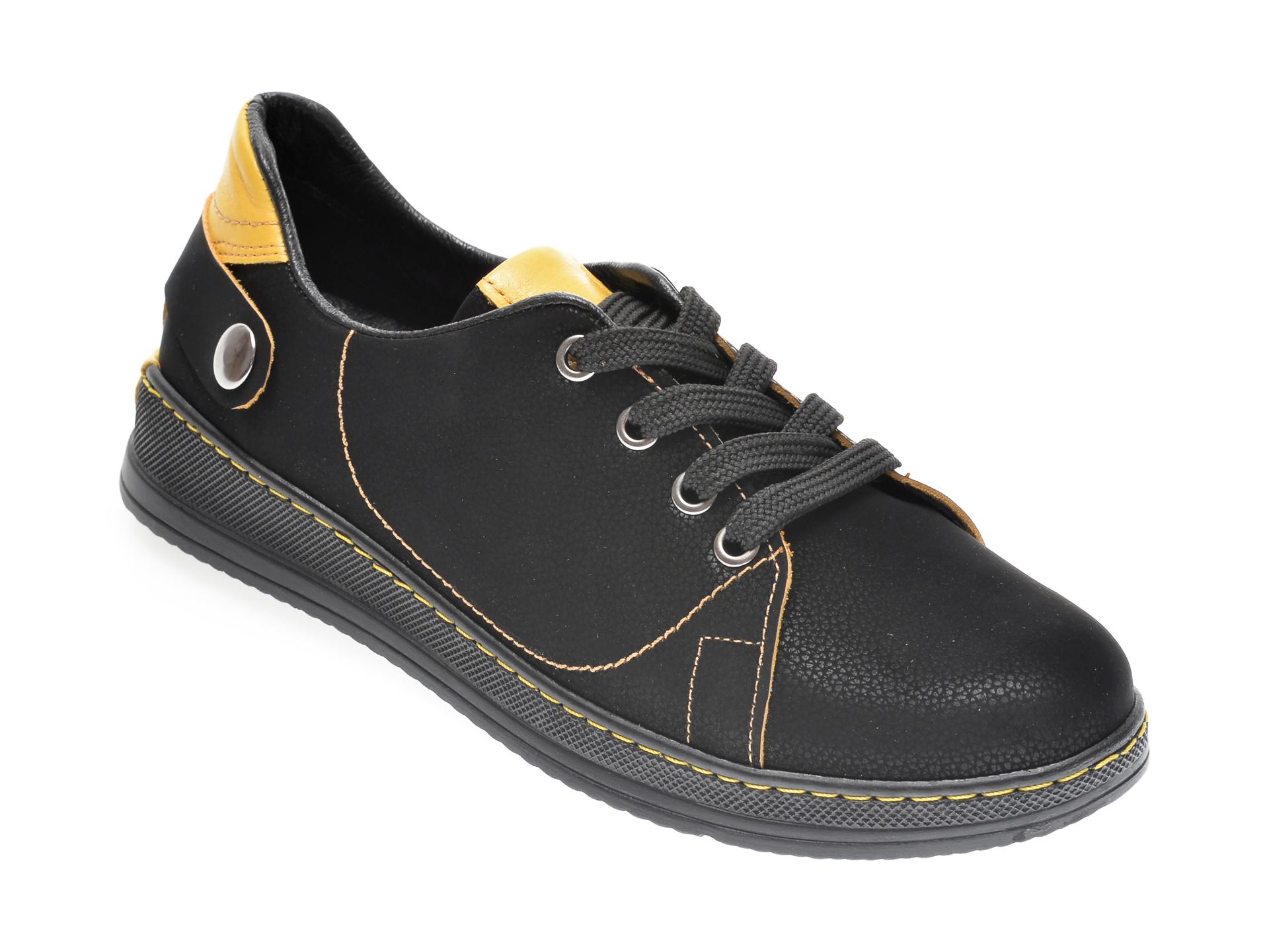 Pantofi FLAVIA PASSINI negri, 1554273, din nabuc imagine