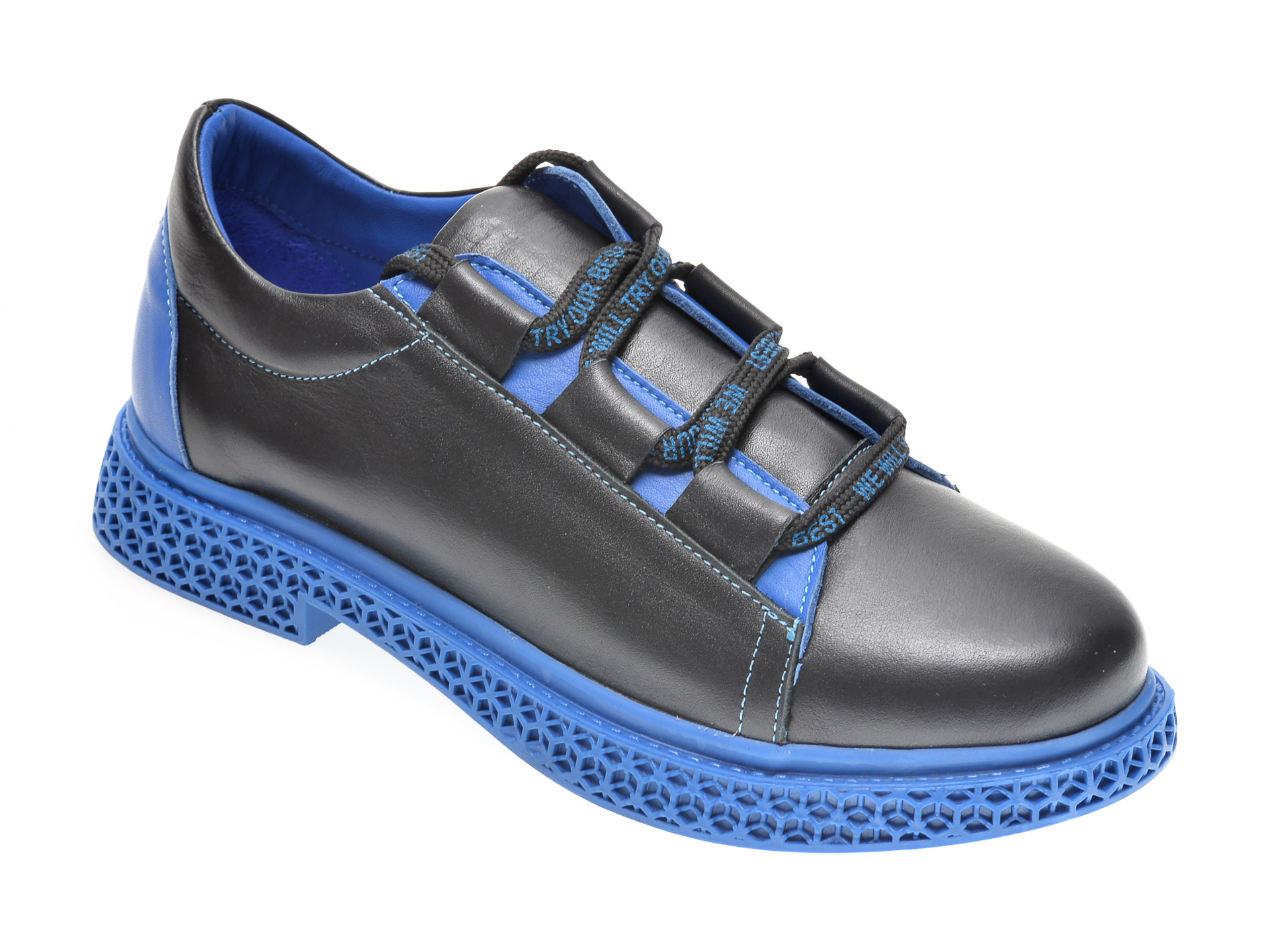 Pantofi FLAVIA PASSINI negri, 157813, din piele naturala imagine