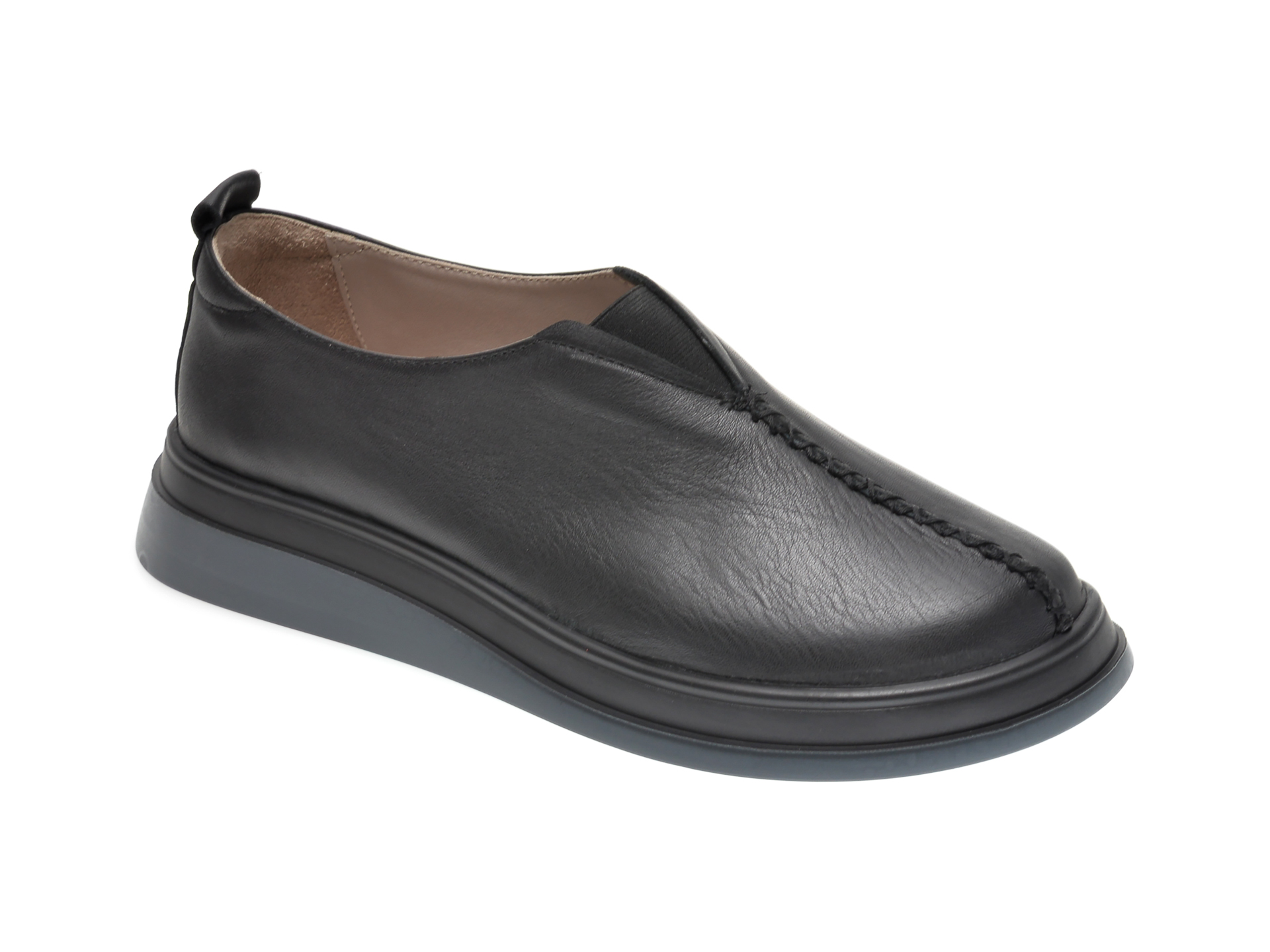 Pantofi FLAVIA PASSINI negri, 159899, din piele naturala imagine otter.ro