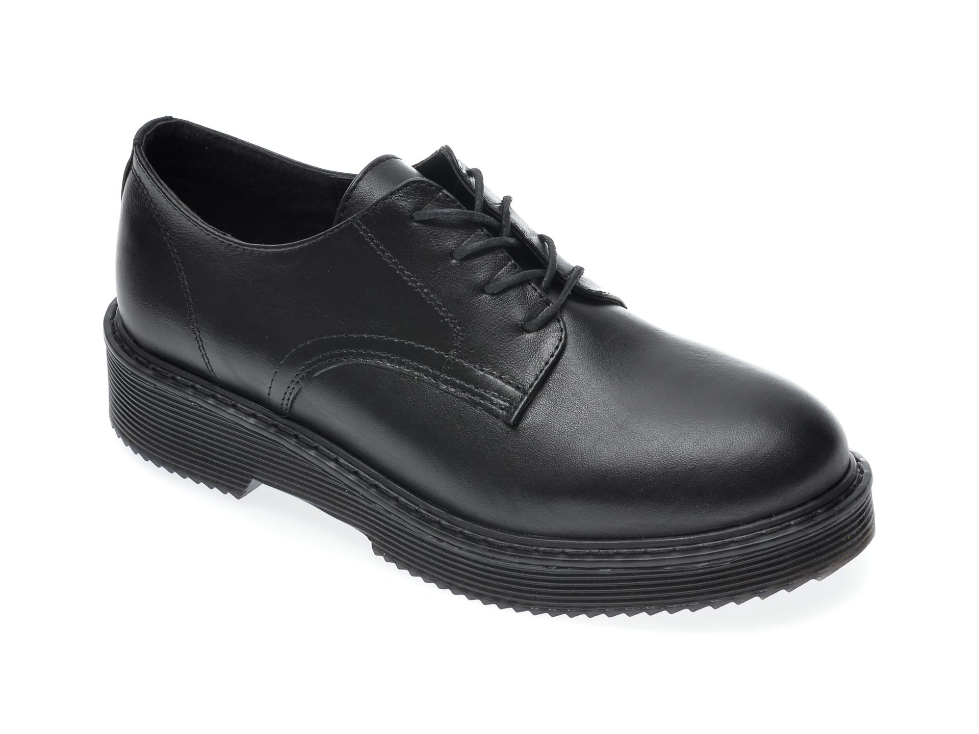 Pantofi FLAVIA PASSINI negri, 2030, din piele naturala imagine otter.ro 2021