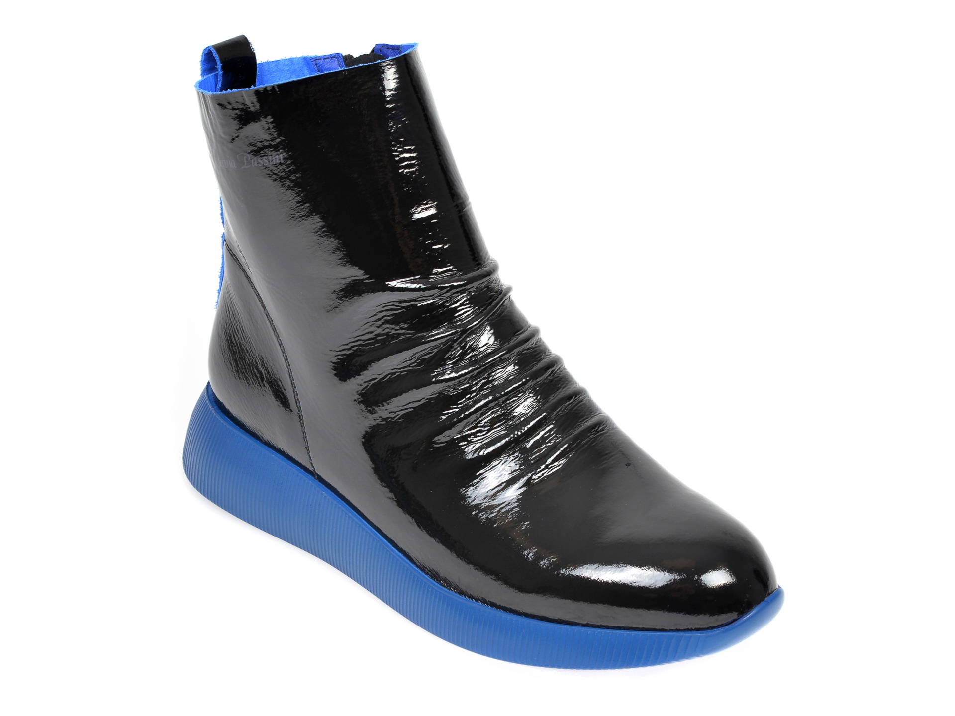 Pantofi FLAVIA PASSINI negri, 2056366, din piele naturala lacuita imagine