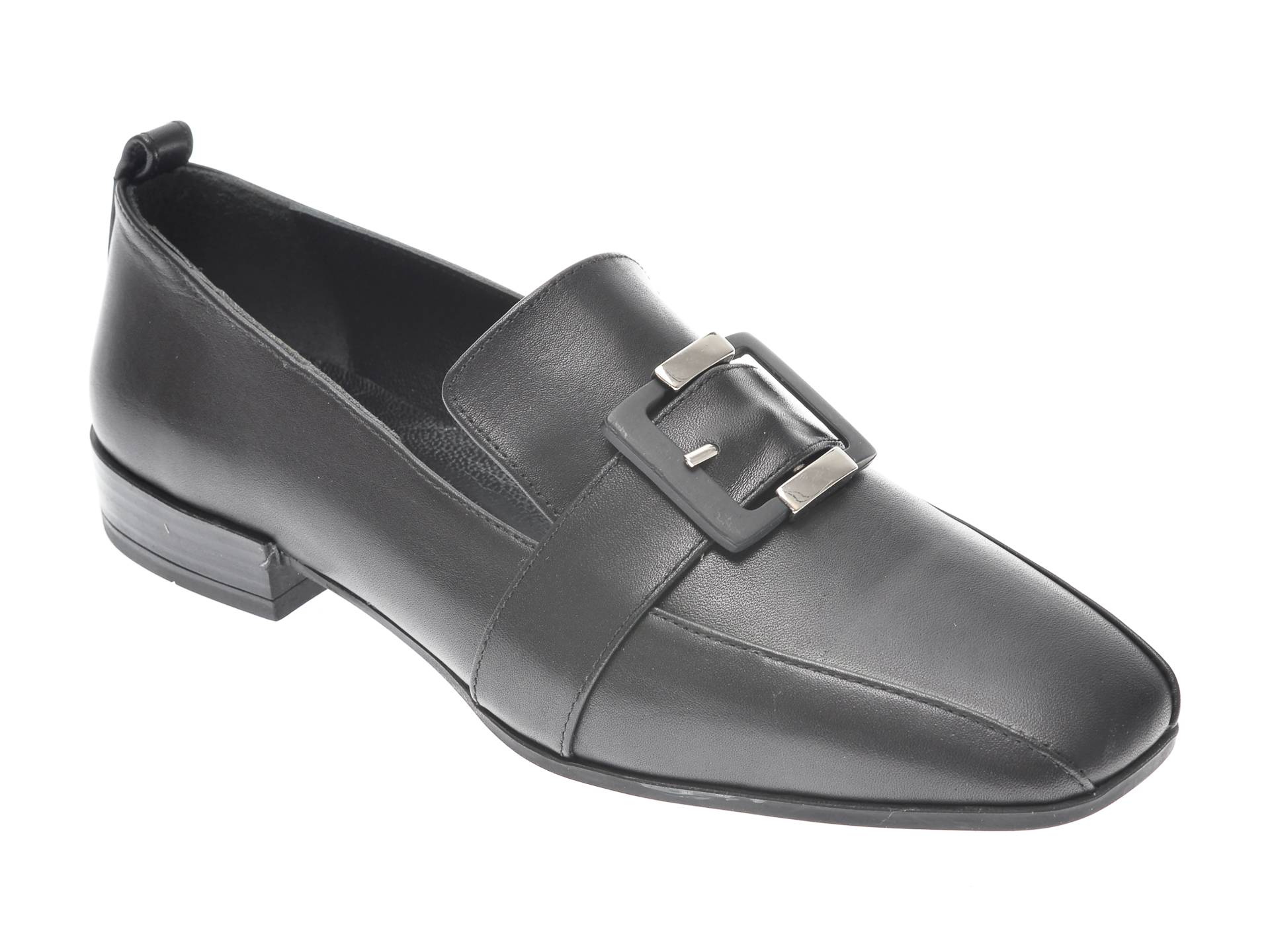 Pantofi FLAVIA PASSINI negri, 22209, din piele naturala imagine