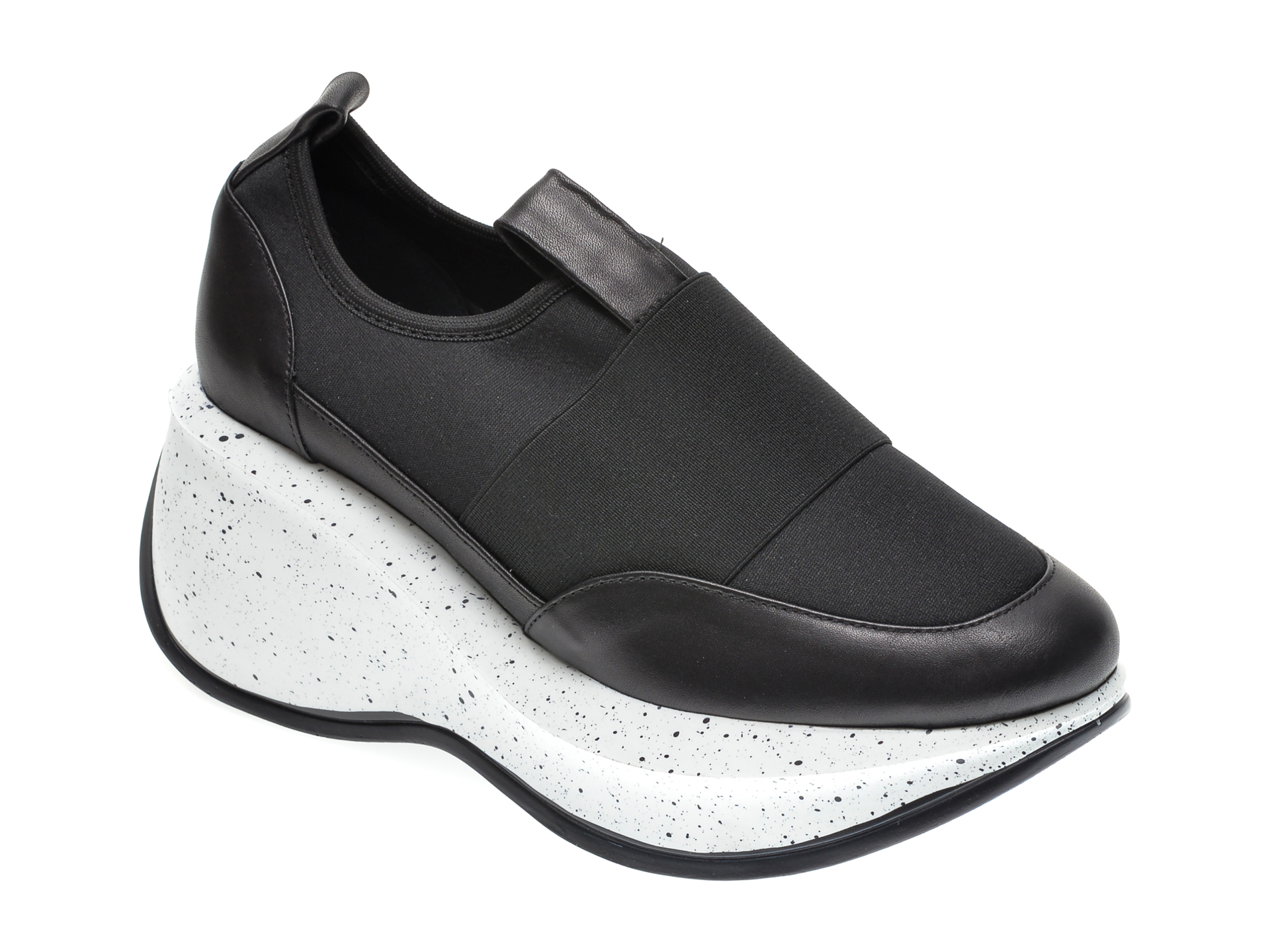 Pantofi FLAVIA PASSINI negri, 22908, din material textil imagine