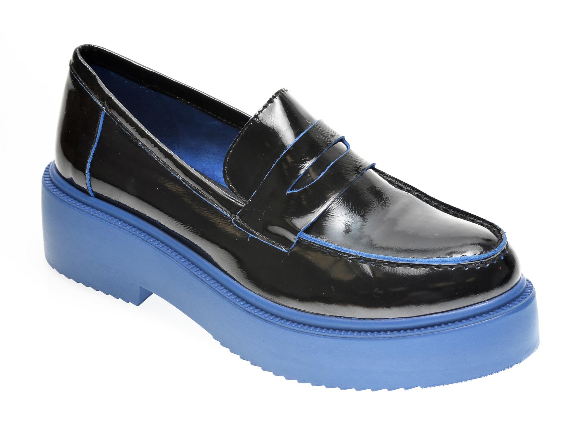 Pantofi FLAVIA PASSINI negri, 2947273, din piele naturala lacuita imagine