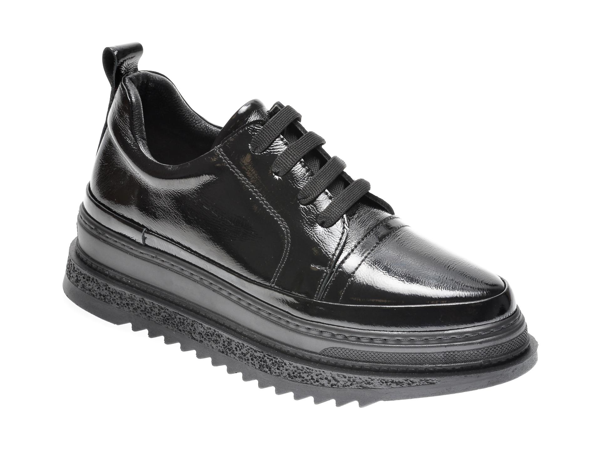 Pantofi FLAVIA PASSINI negri, 2947278, din piele naturala lacuita imagine