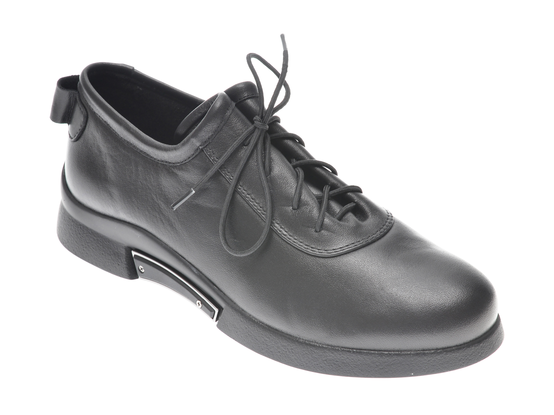 Pantofi FLAVIA PASSINI negri, 34781M3, din piele naturala imagine