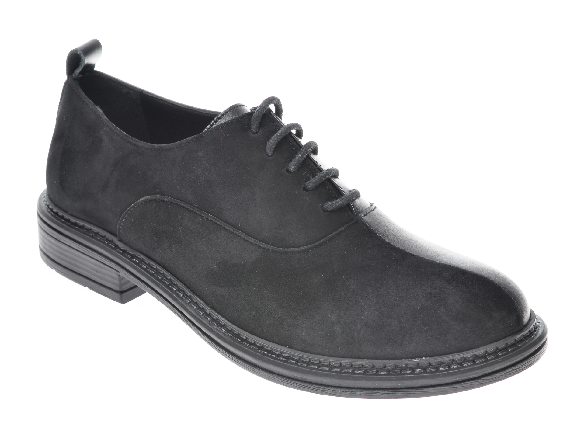 Pantofi FLAVIA PASSINI negri, 361819, din piele naturala imagine