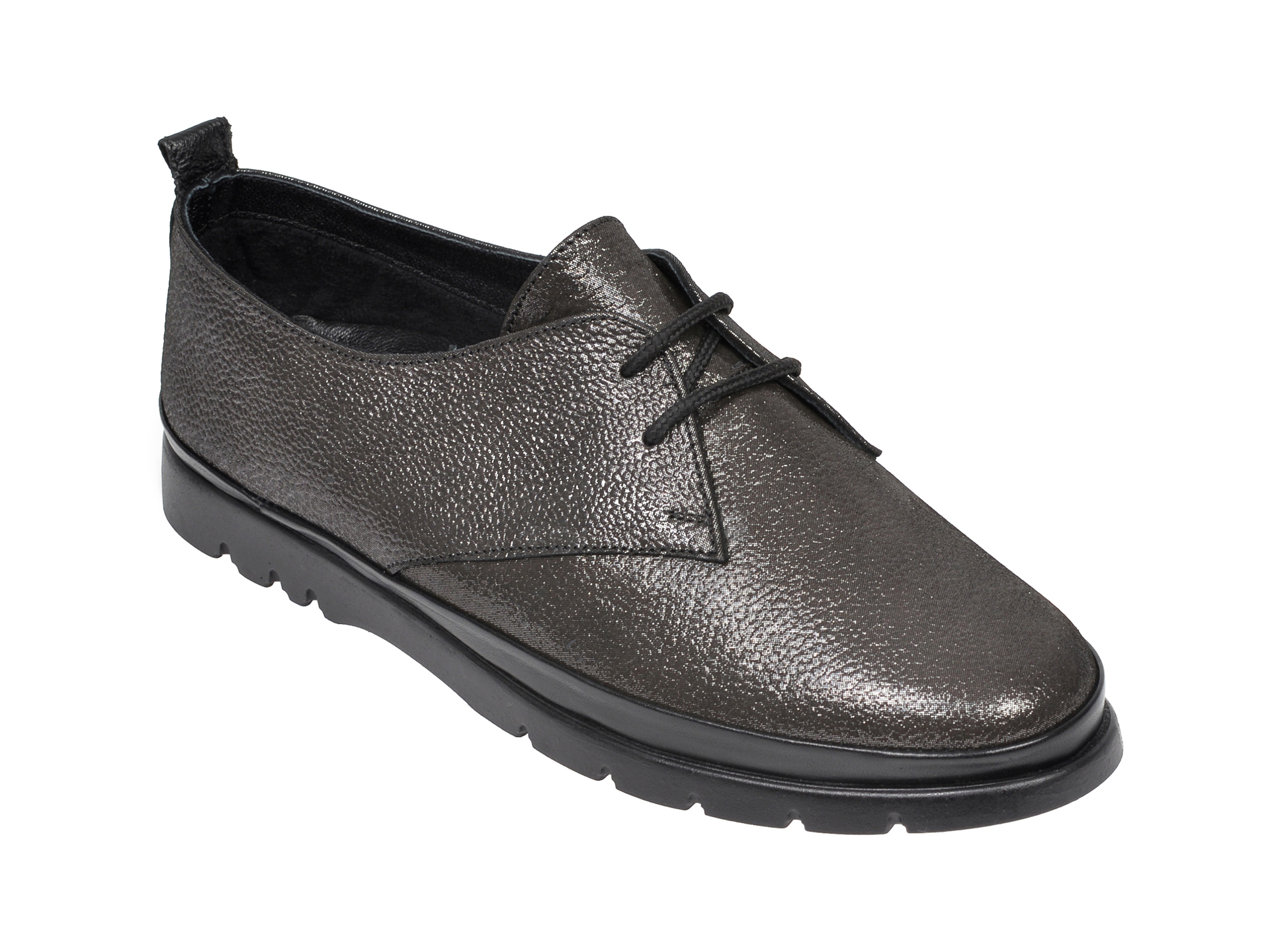 Pantofi FLAVIA PASSINI negri, 4101, din piele naturala imagine