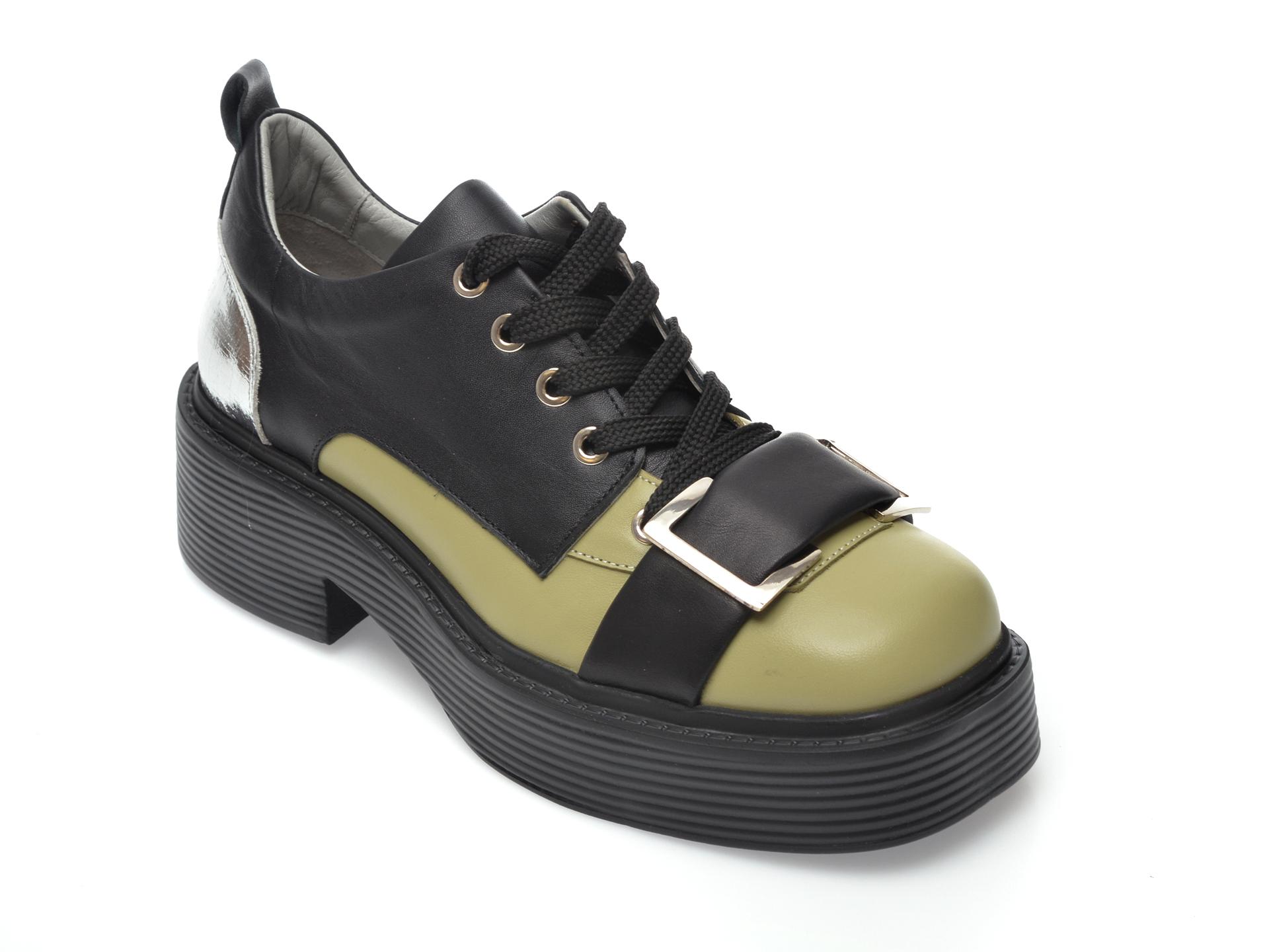 Pantofi FLAVIA PASSINI negri, 4582025, din piele naturala imagine otter.ro 2021