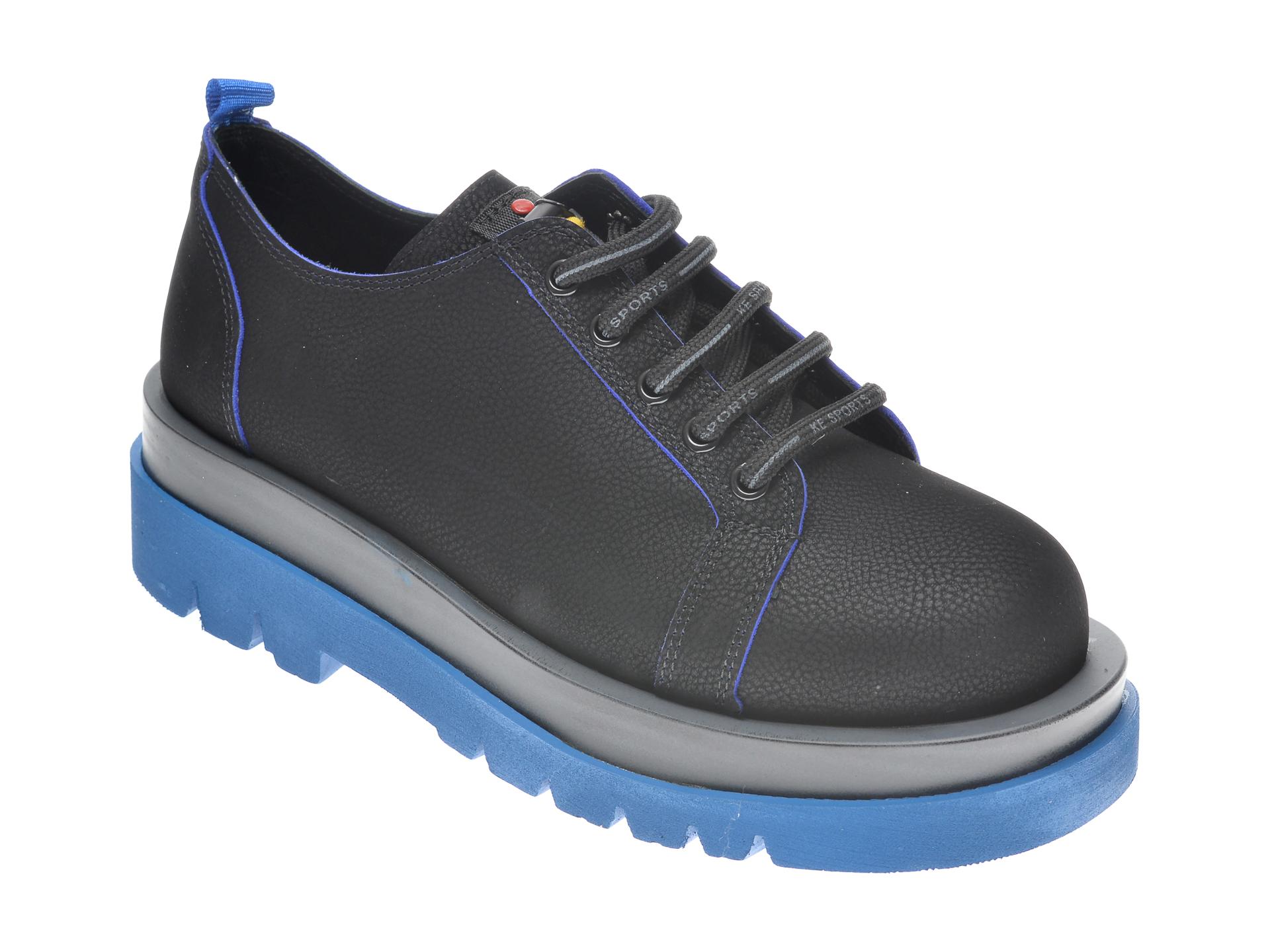 Pantofi FLAVIA PASSINI negri, 542066, din nabuc New