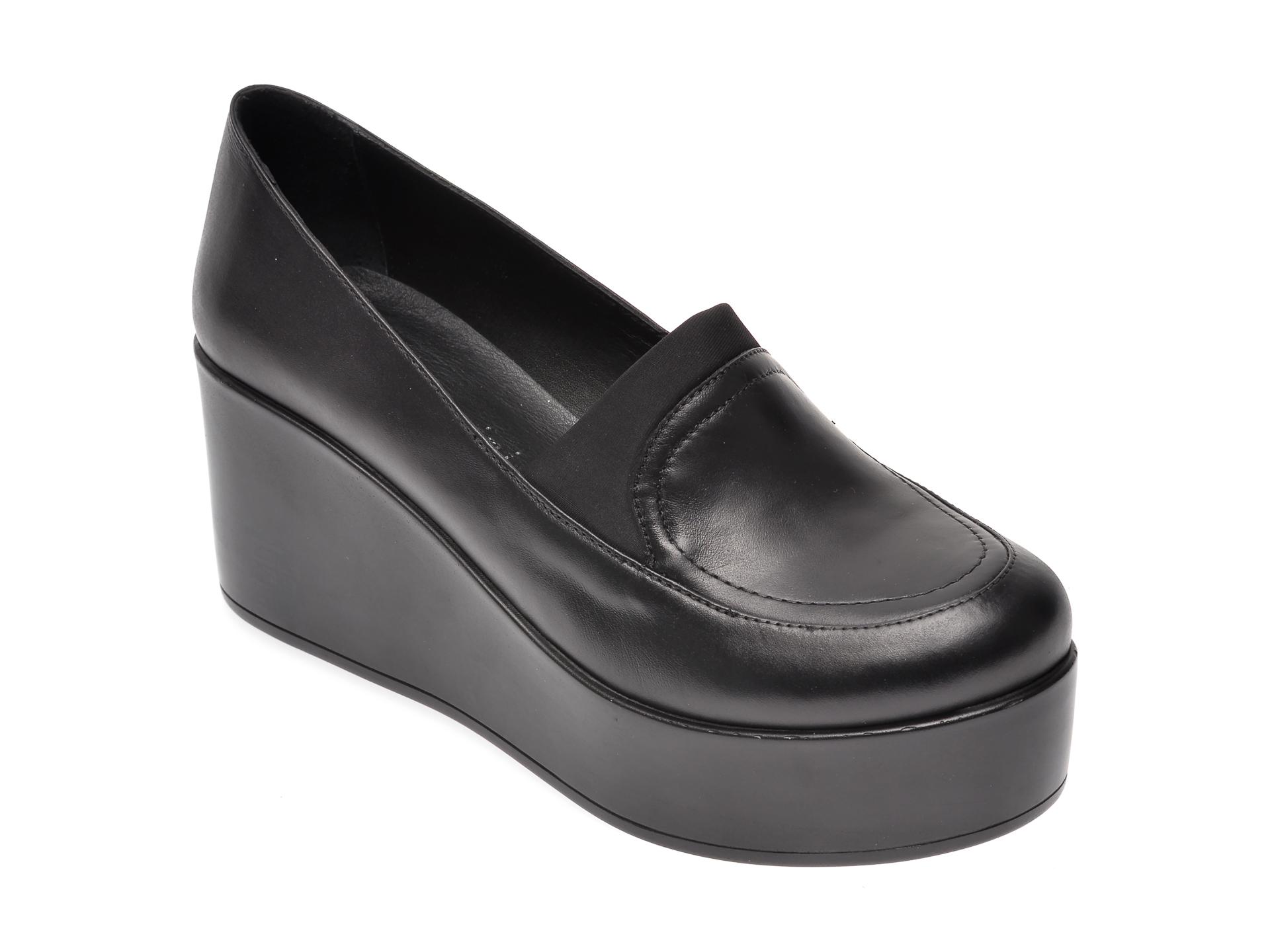 Pantofi FLAVIA PASSINI negri, 6292167, din piele naturala