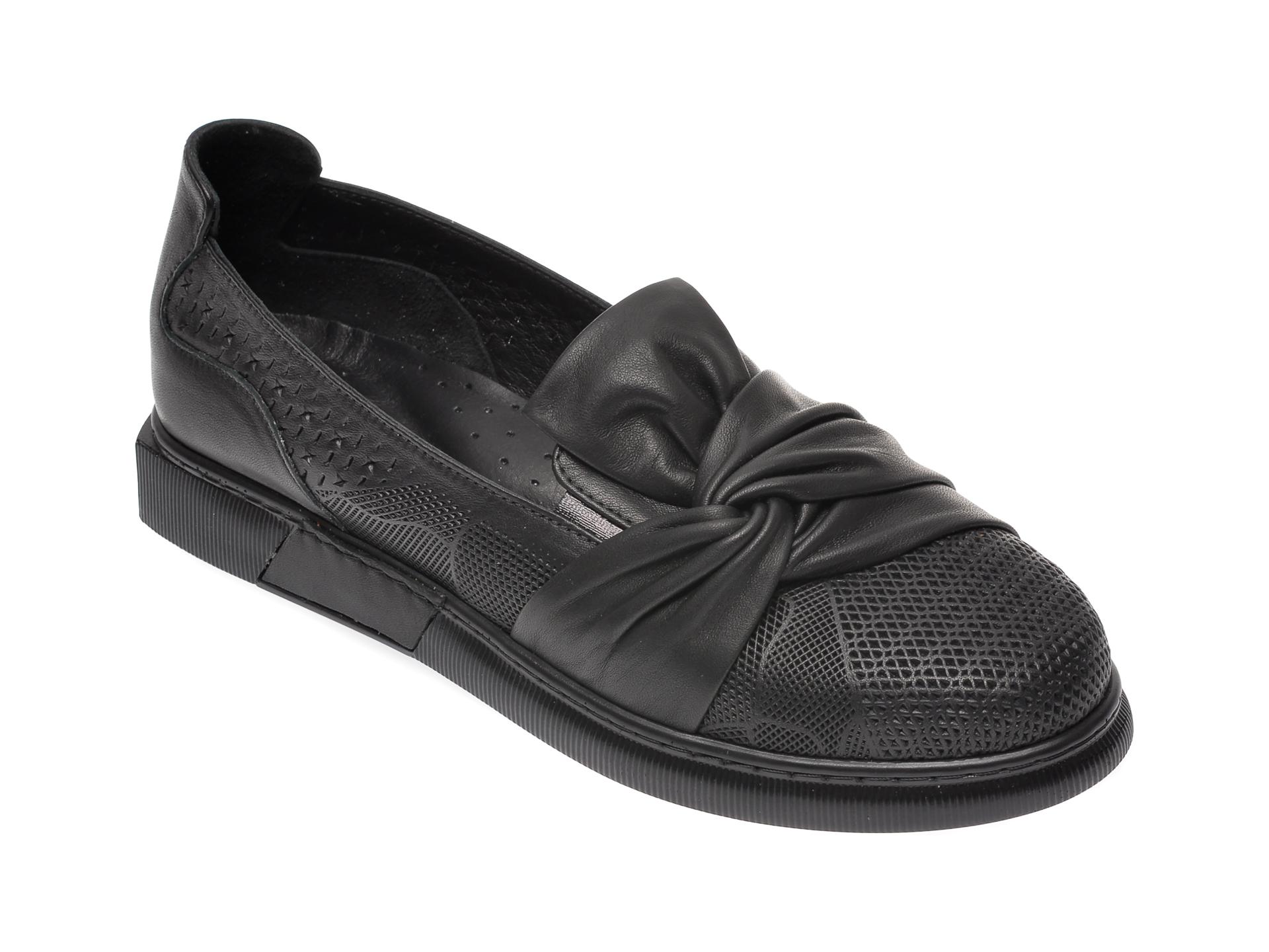 Pantofi FLAVIA PASSINI negri, 645441, din piele naturala