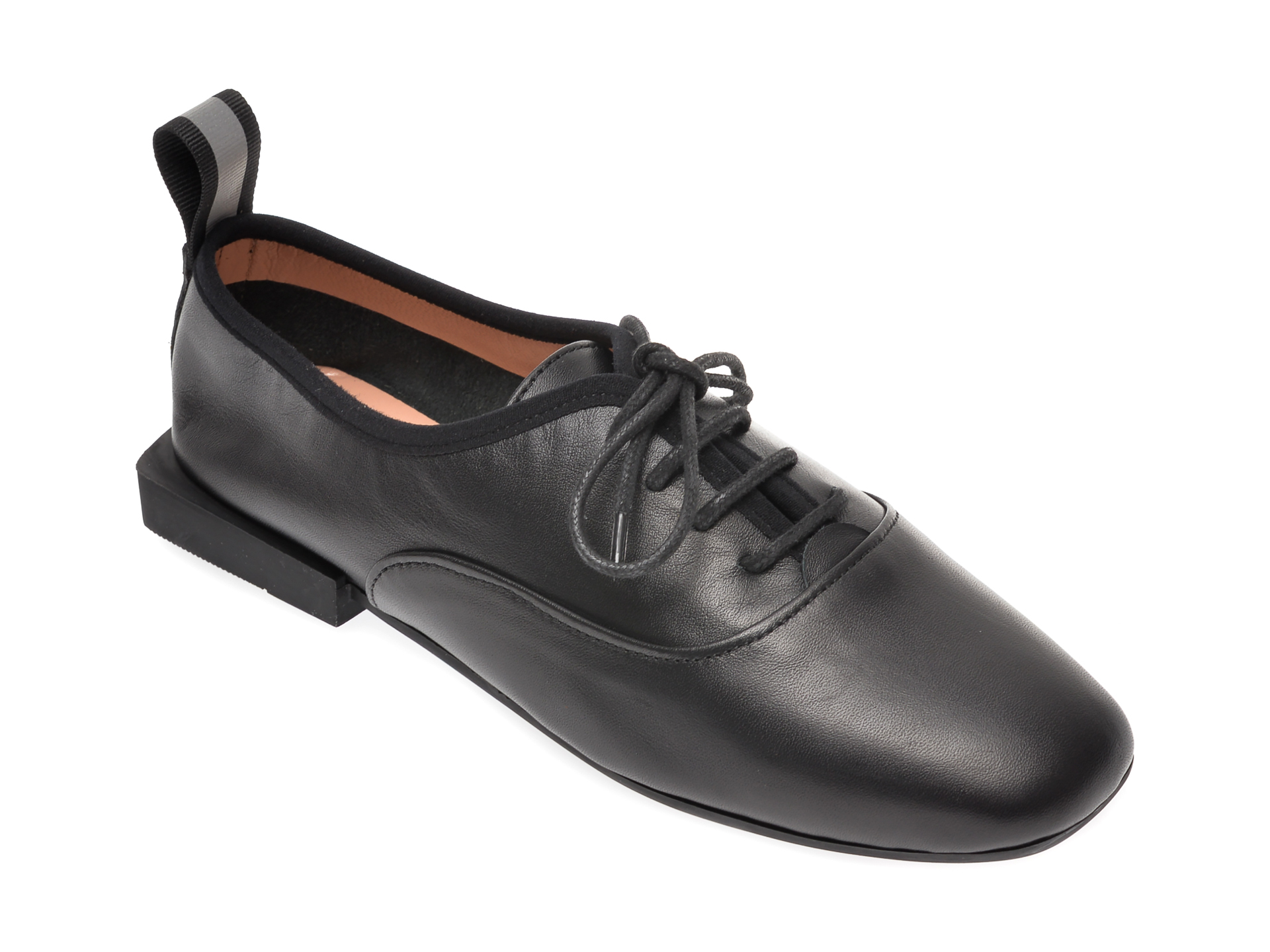Pantofi FLAVIA PASSINI negri, 658205, din piele naturala