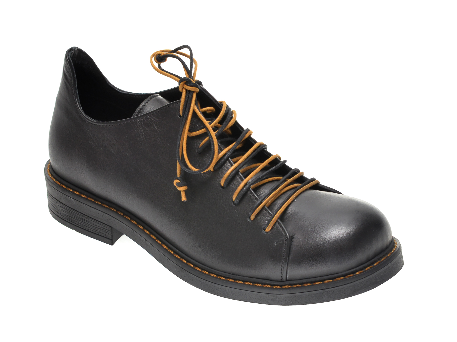 Pantofi FLAVIA PASSINI negri, 730, din piele naturala New