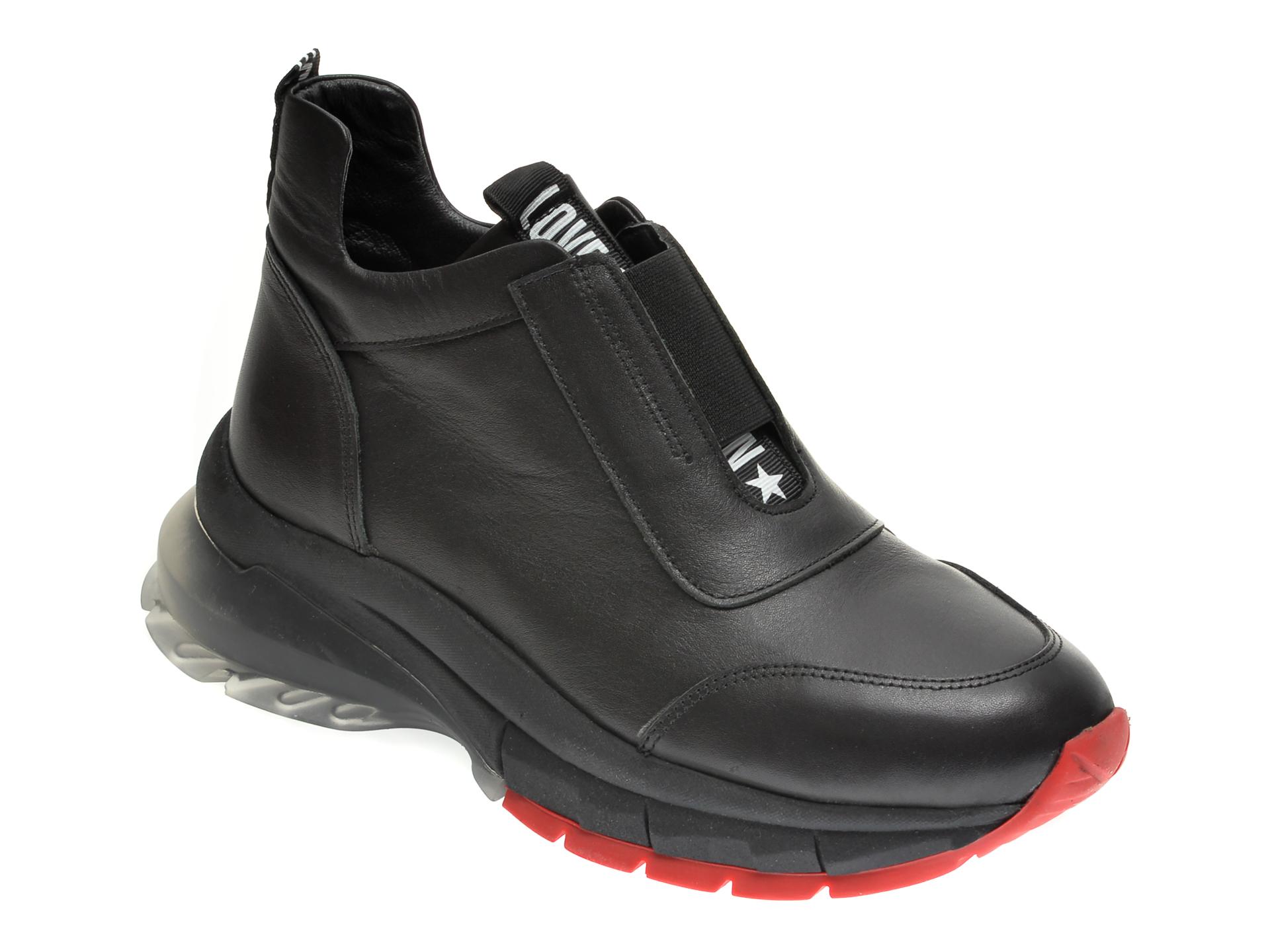 Pantofi FLAVIA PASSINI negri, 731, din piele naturala imagine