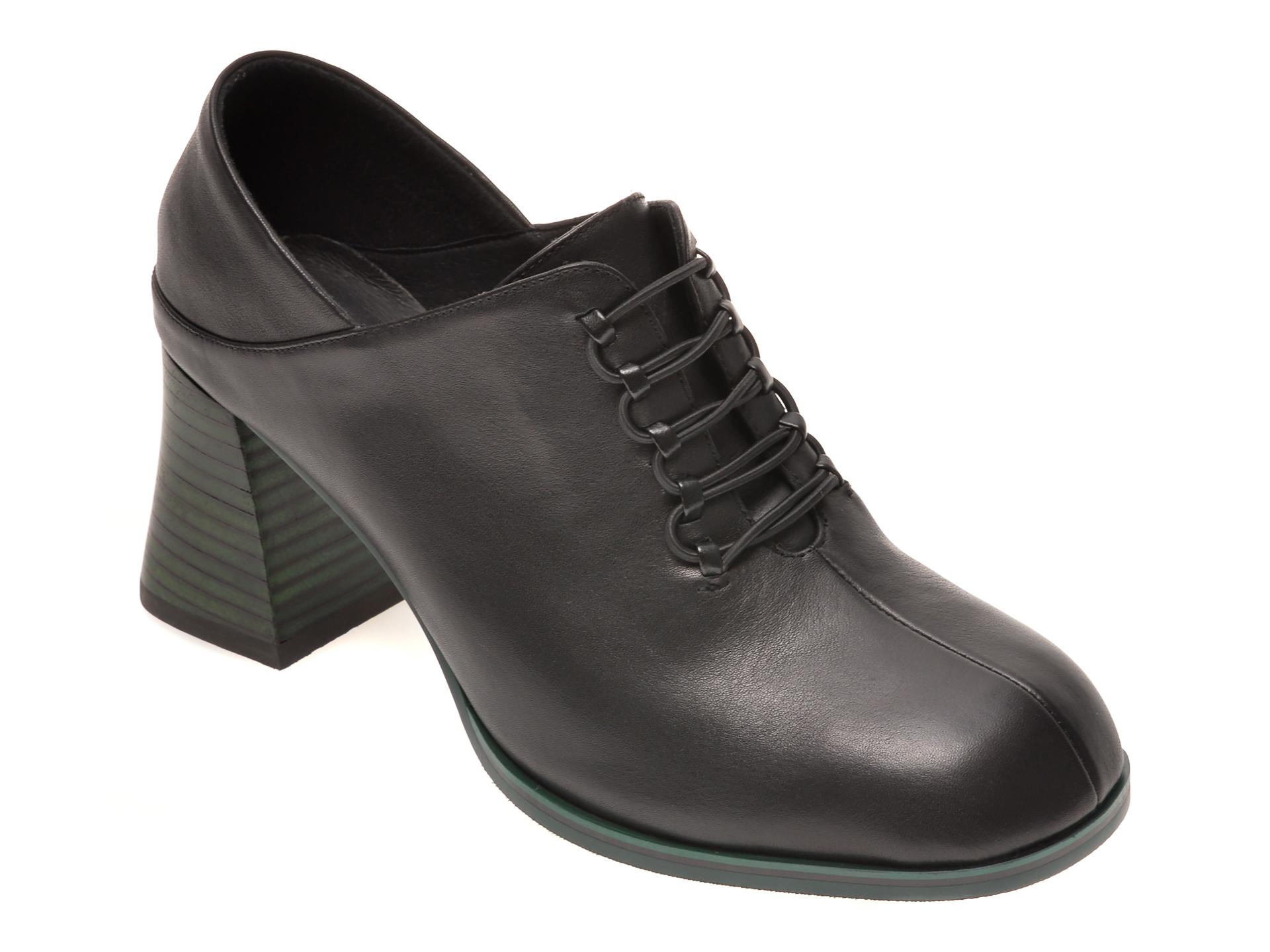 Pantofi FLAVIA PASSINI negri, 7836303, din piele naturala