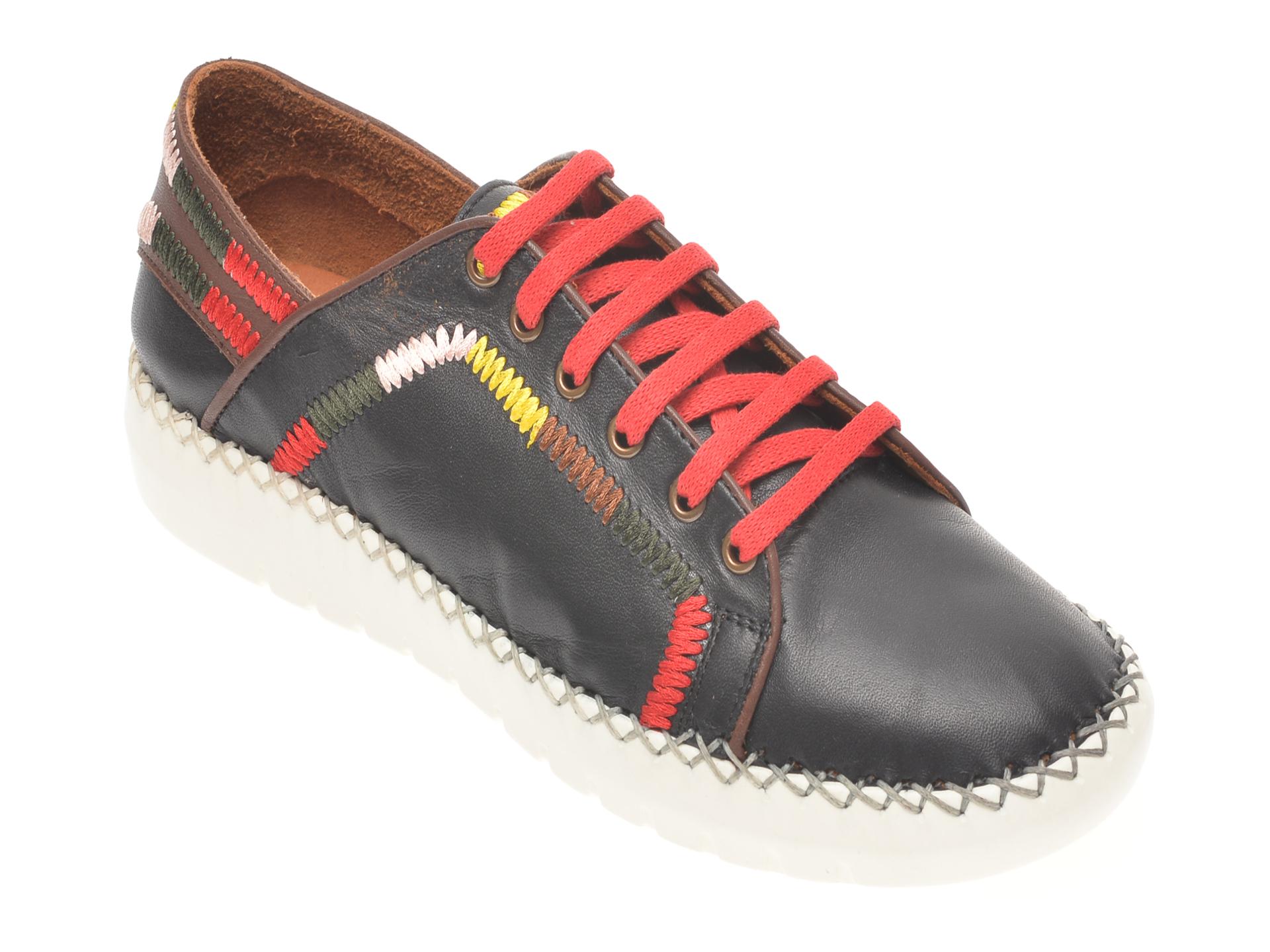 Pantofi FLAVIA PASSINI negri, 8319639, din piele naturala New