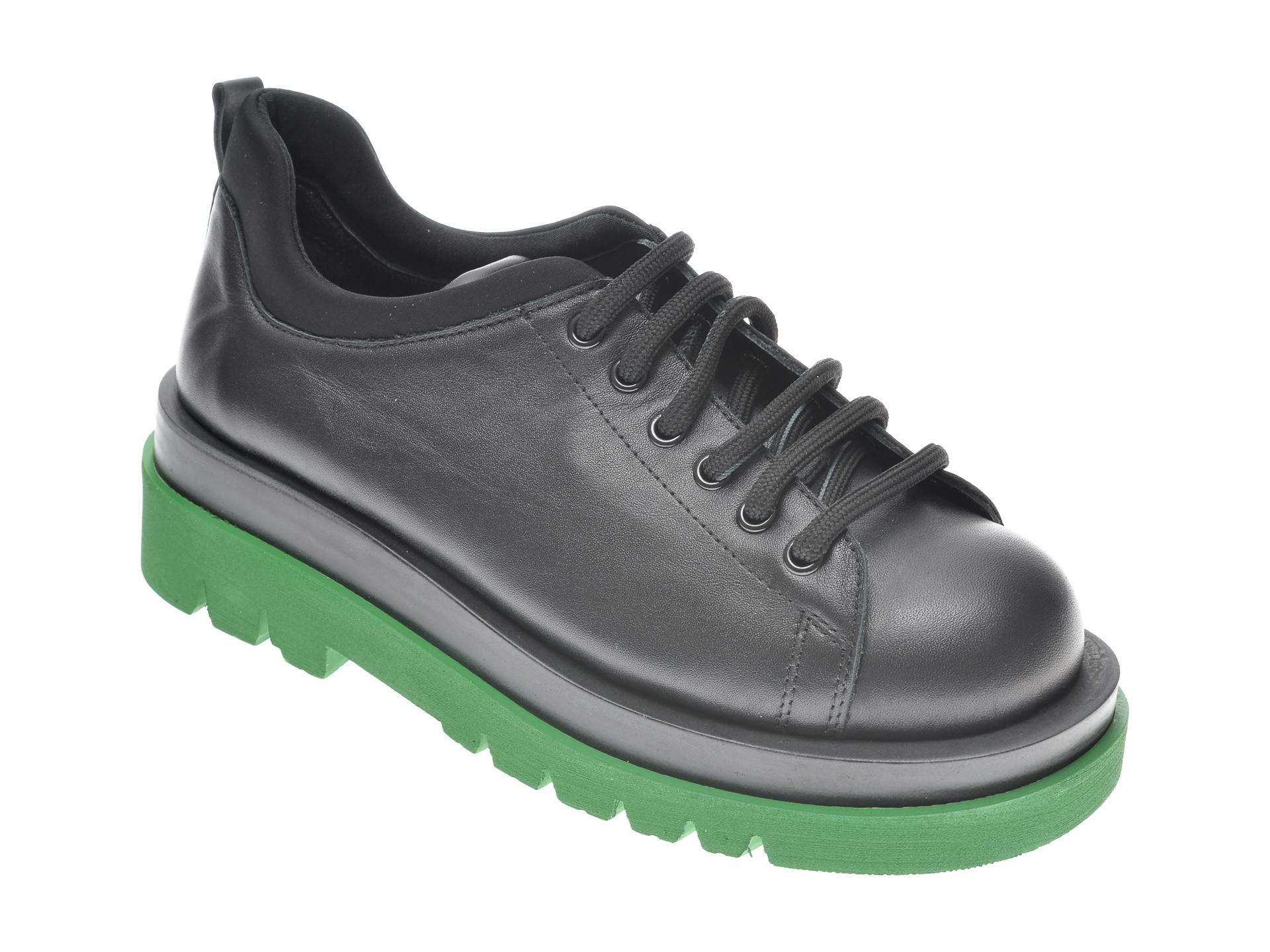 Pantofi FLAVIA PASSINI negri, 8542605, din piele naturala imagine