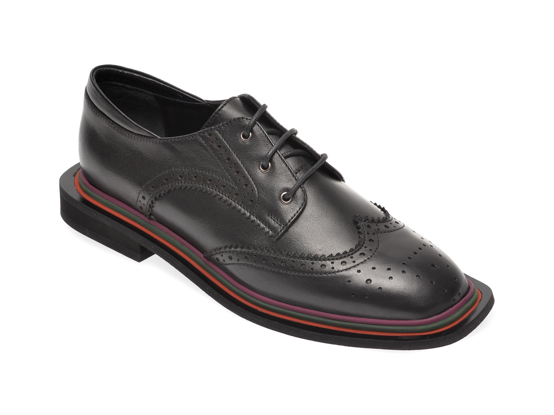 Pantofi FLAVIA PASSINI negri, 870BAN, din piele naturala