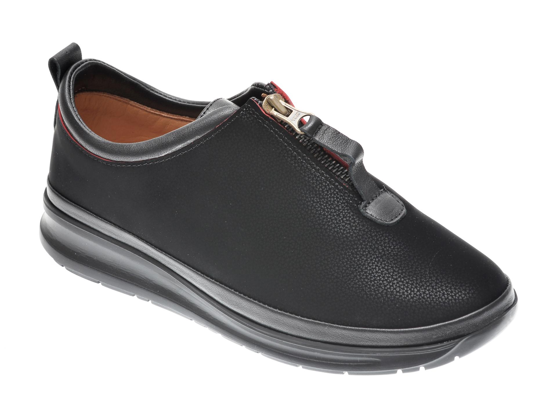 Pantofi FLAVIA PASSINI negri, 950, din piele naturala imagine