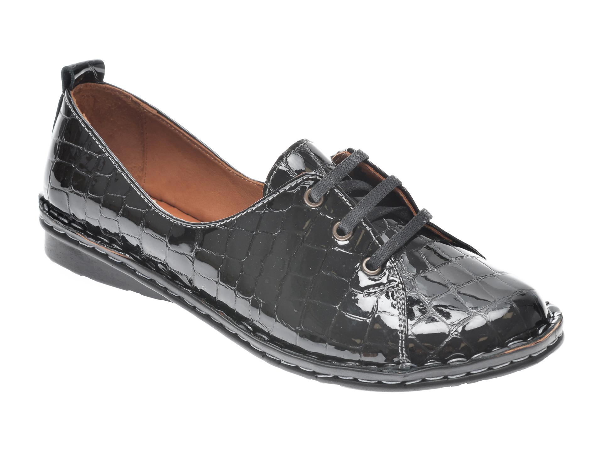 Pantofi FLAVIA PASSINI negri, 952422, din piele naturala imagine