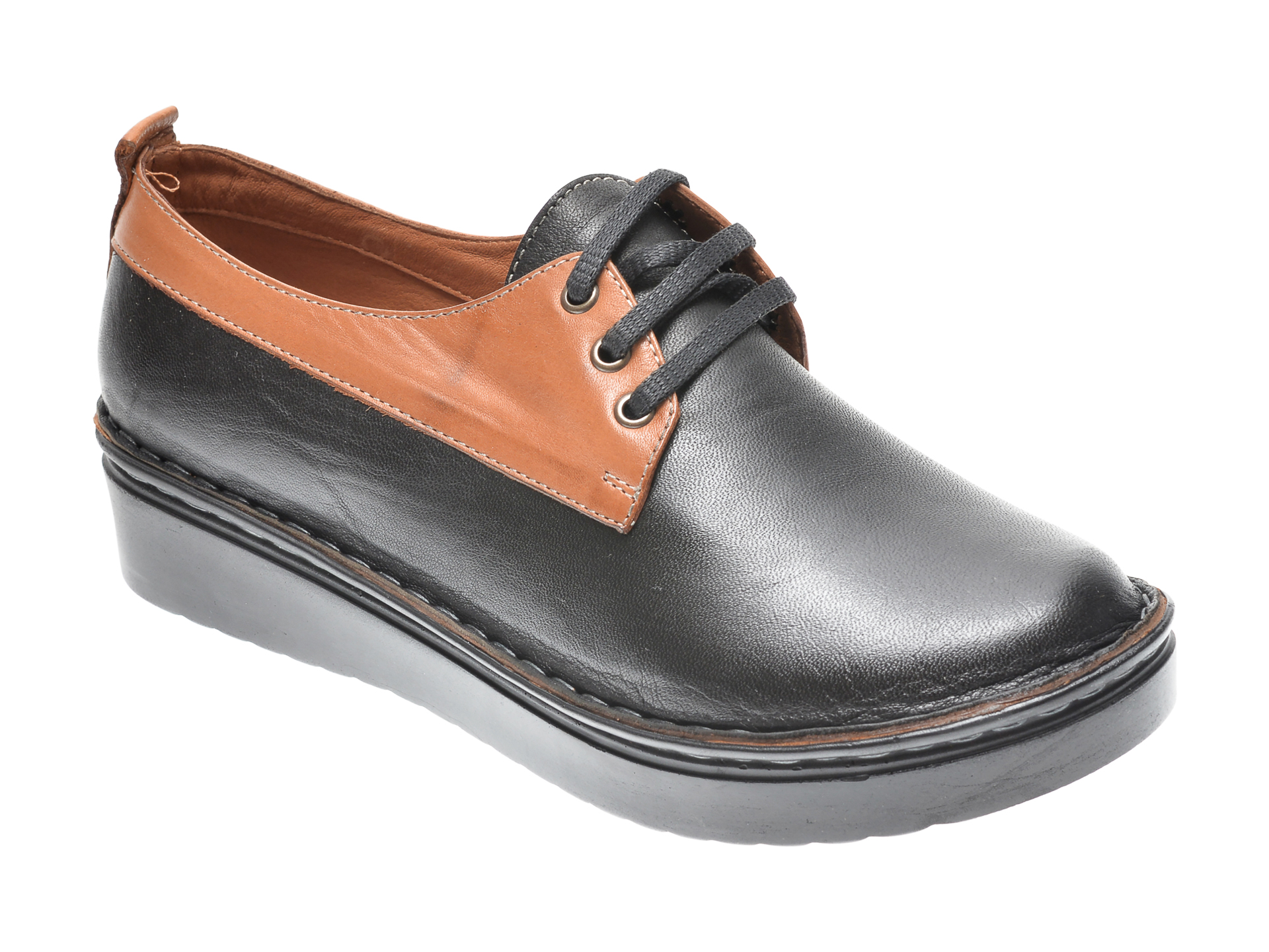 Pantofi FLAVIA PASSINI negri, 953555, din piele naturala imagine otter.ro