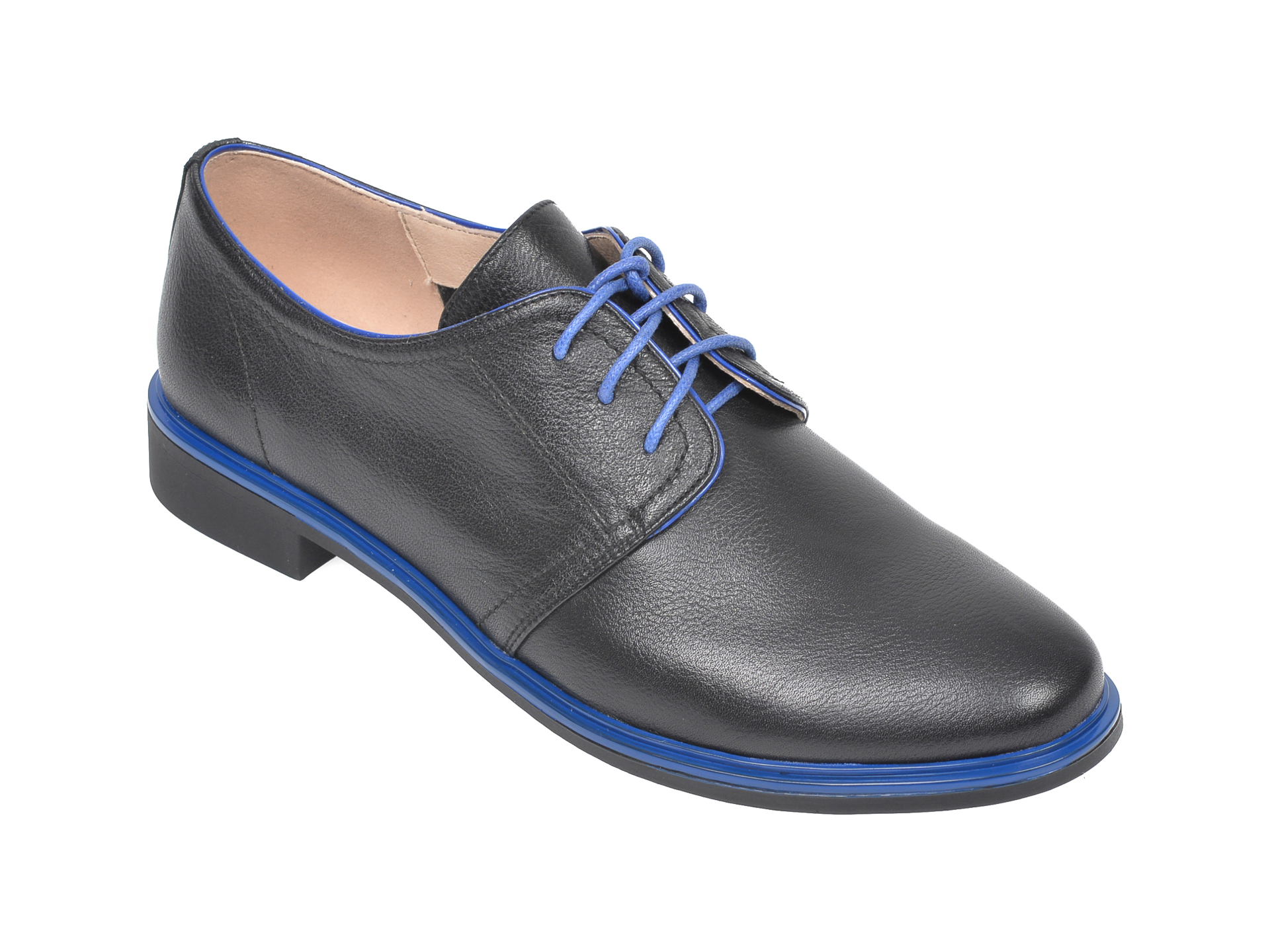 Pantofi FLAVIA PASSINI negri, H558722, din piele naturala imagine