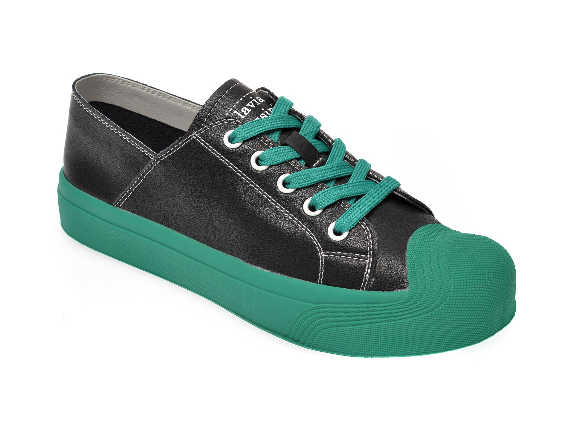 Pantofi FLAVIA PASSINI negri, YC81011, din piele naturala