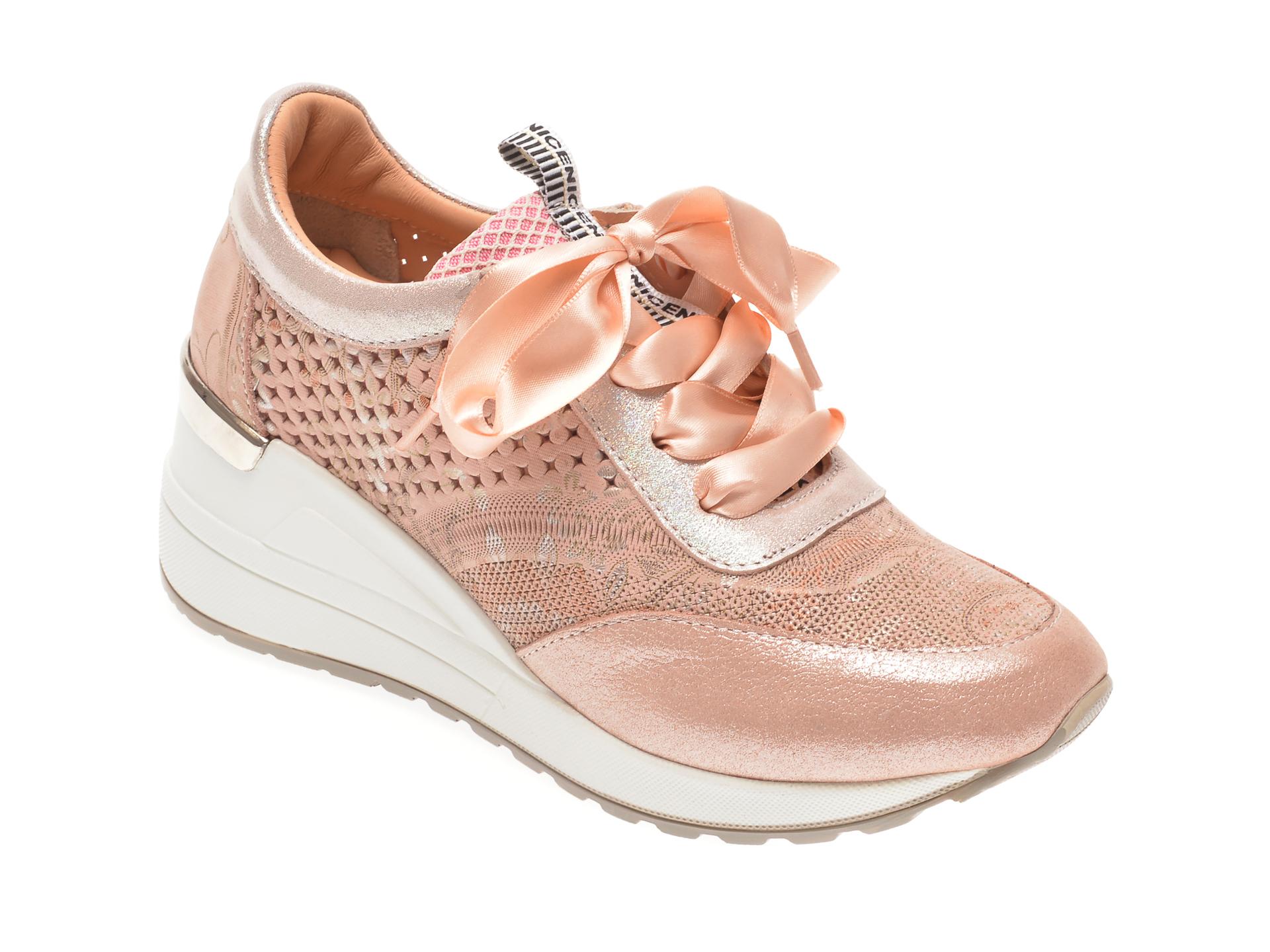 Pantofi FLAVIA PASSINI nude, 135P102, din piele naturala