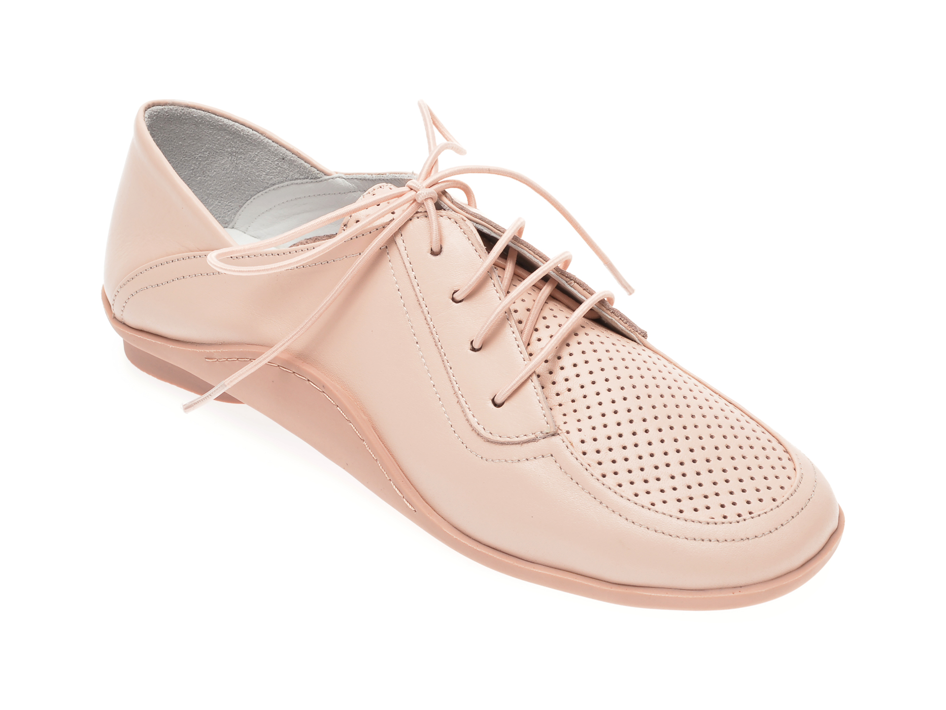 Pantofi Flavia Passini Nude, 529594, Din Piele Naturala