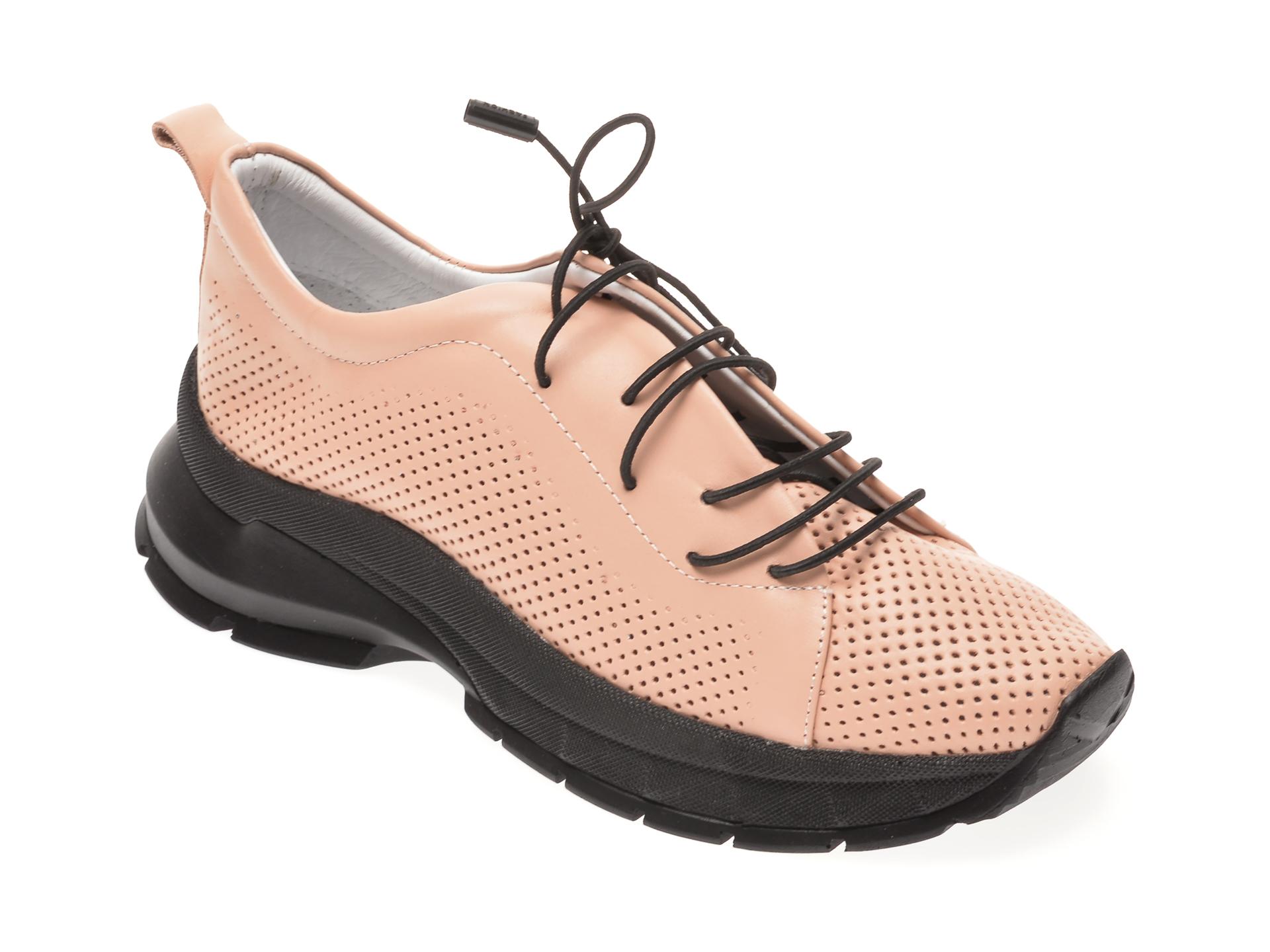 Pantofi FLAVIA PASSINI nude, 605, din piele naturala