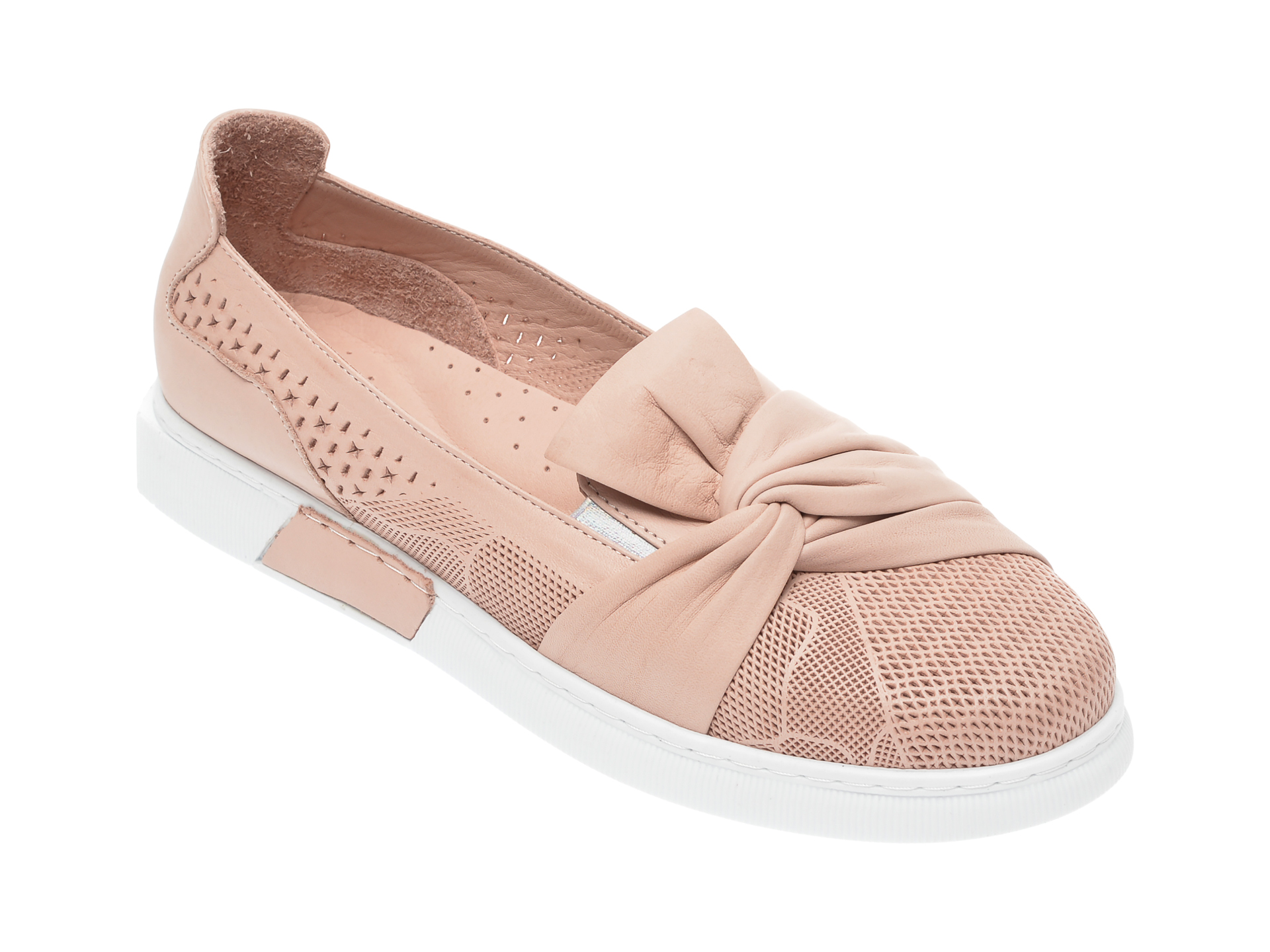 Pantofi FLAVIA PASSINI nude, 645441, din piele naturala imagine