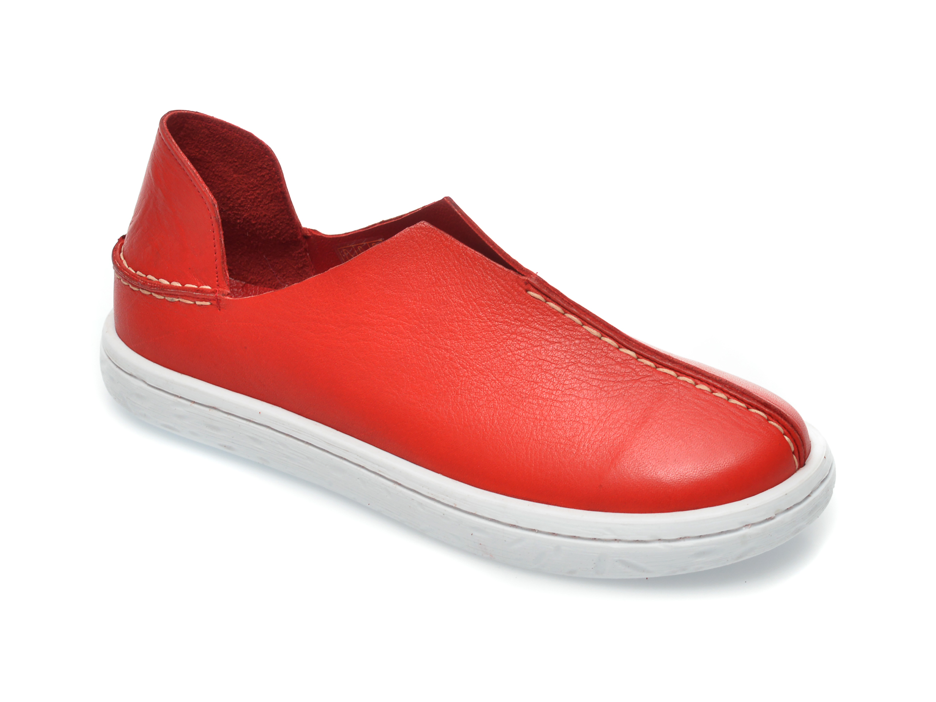 Pantofi FLAVIA PASSINI rosii, 102, din piele naturala imagine otter.ro 2021
