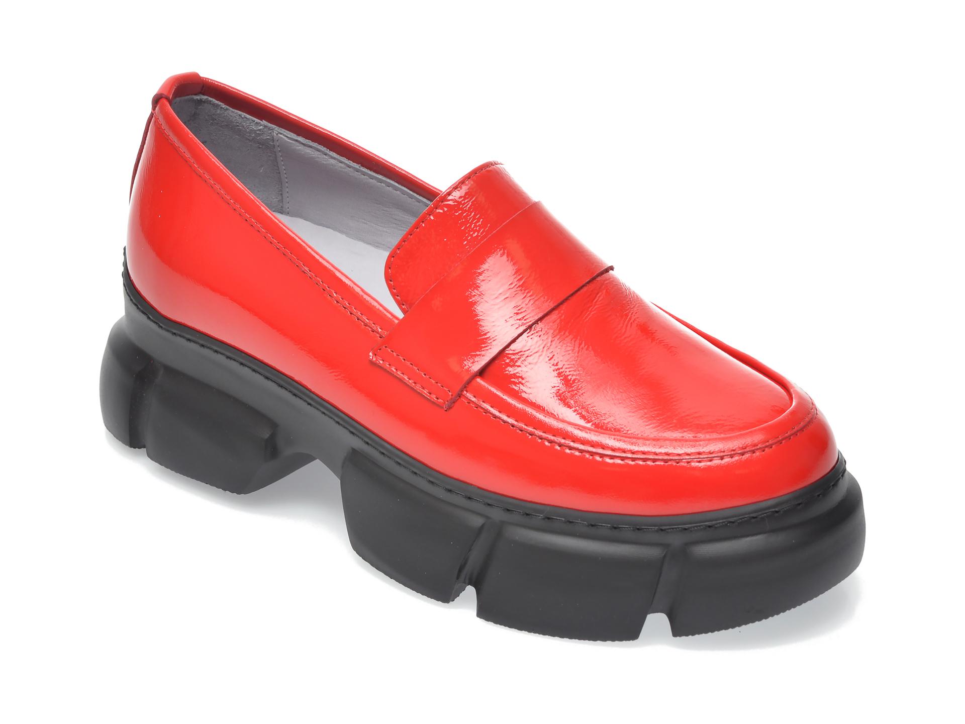 Pantofi FLAVIA PASSINI rosii, 1185341, din piele naturala lacuita New