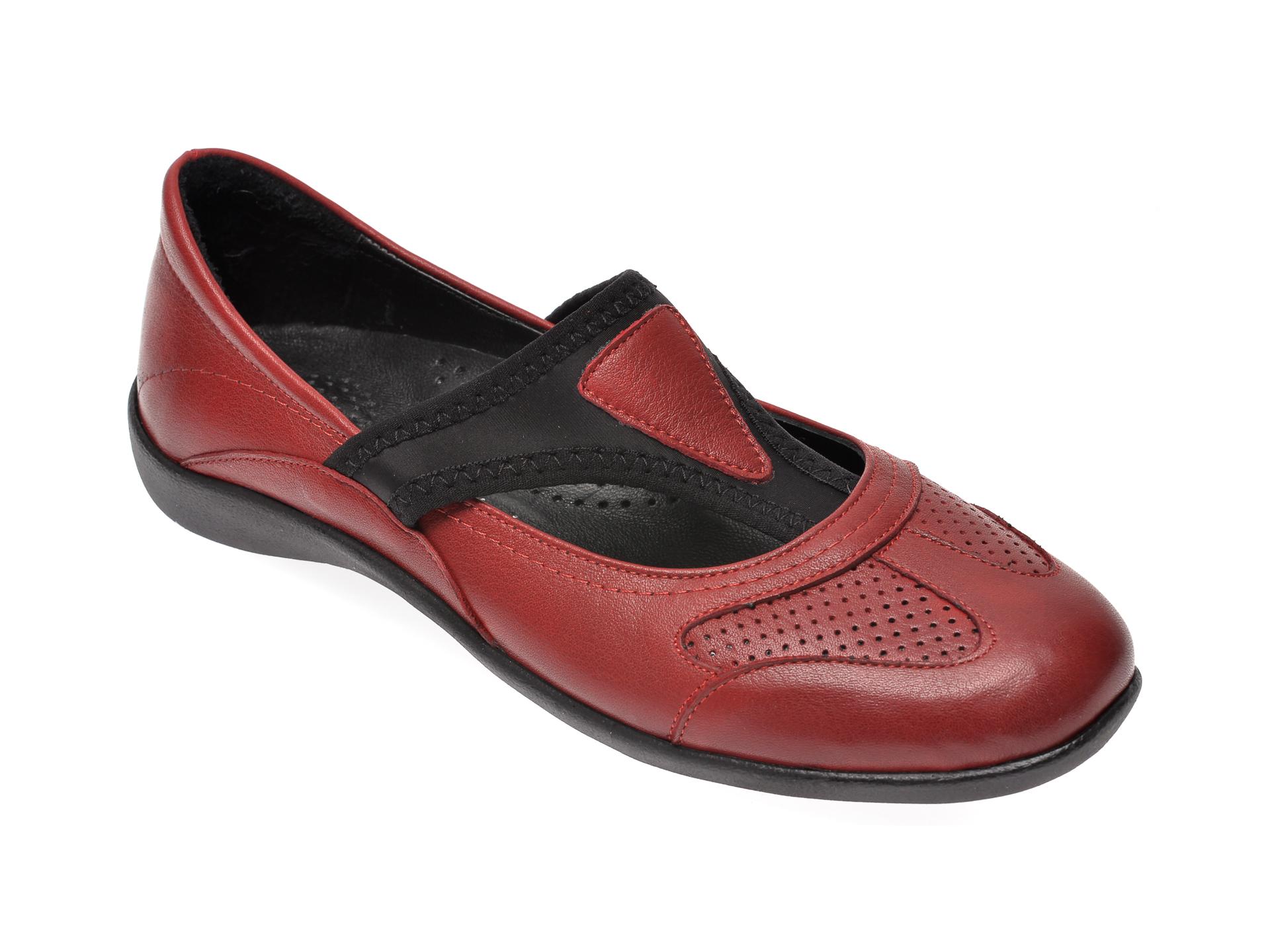 Pantofi FLAVIA PASSINI rosii, 205, din piele naturala