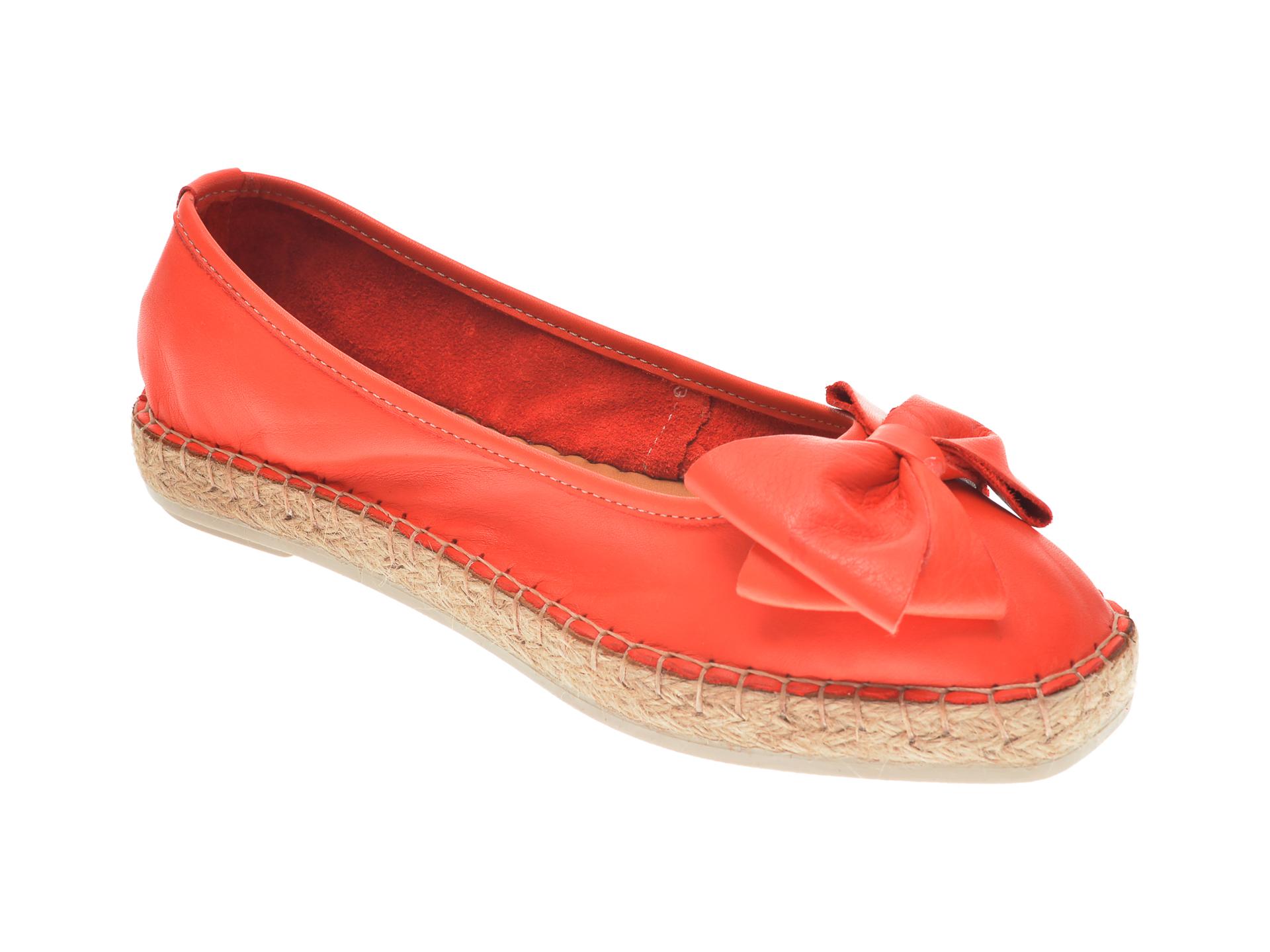 Pantofi FLAVIA PASSINI rosii, 21Y504, din piele naturala imagine otter.ro 2021