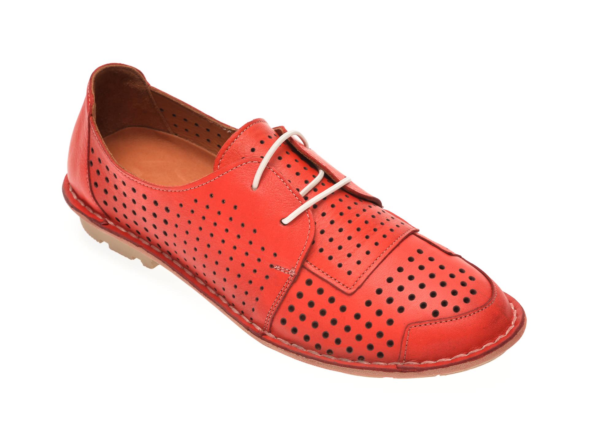Pantofi FLAVIA PASSINI rosii, 808, din piele naturala