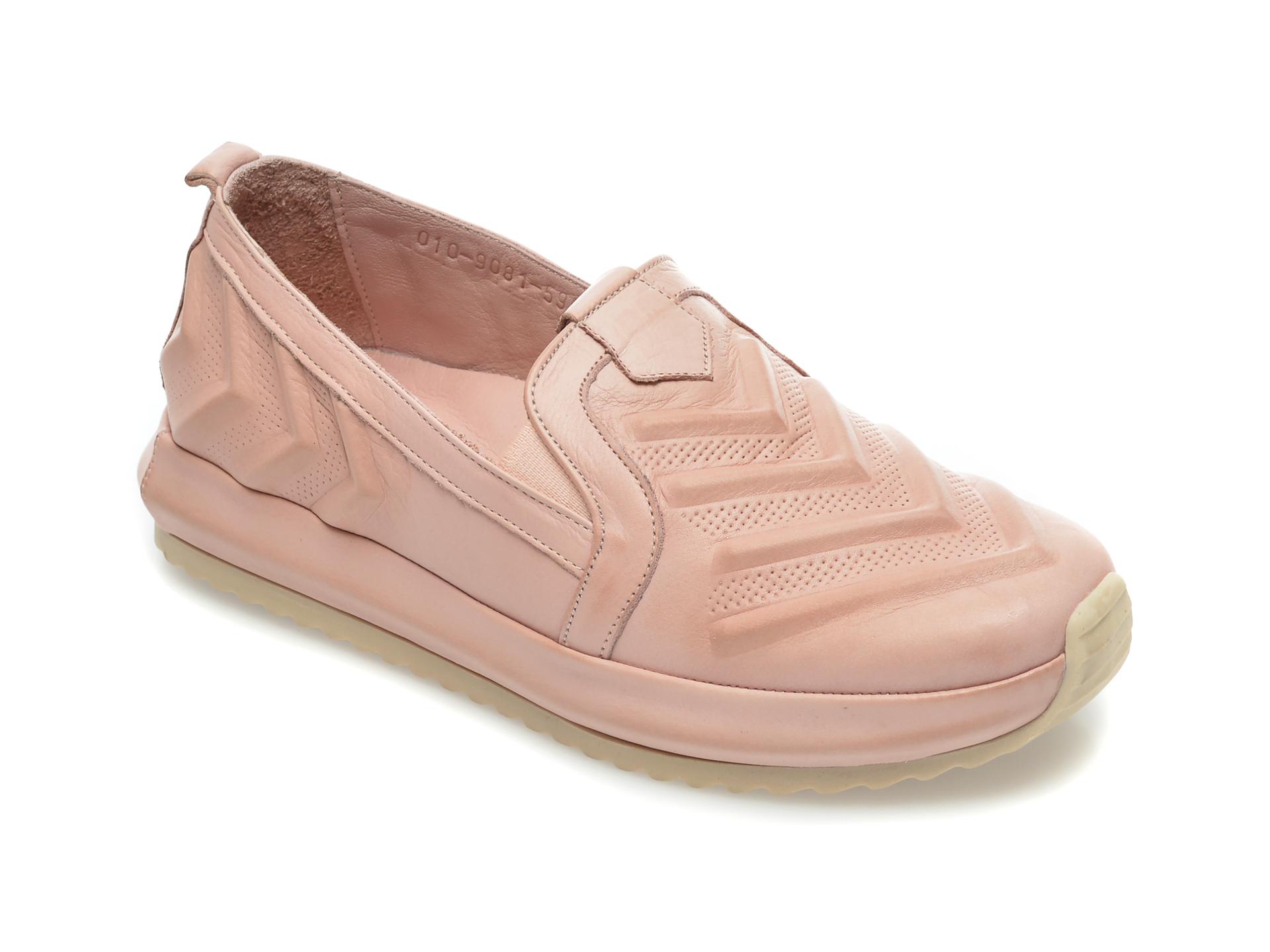 Pantofi FLAVIA PASSINI roz, 109081, din piele naturala New