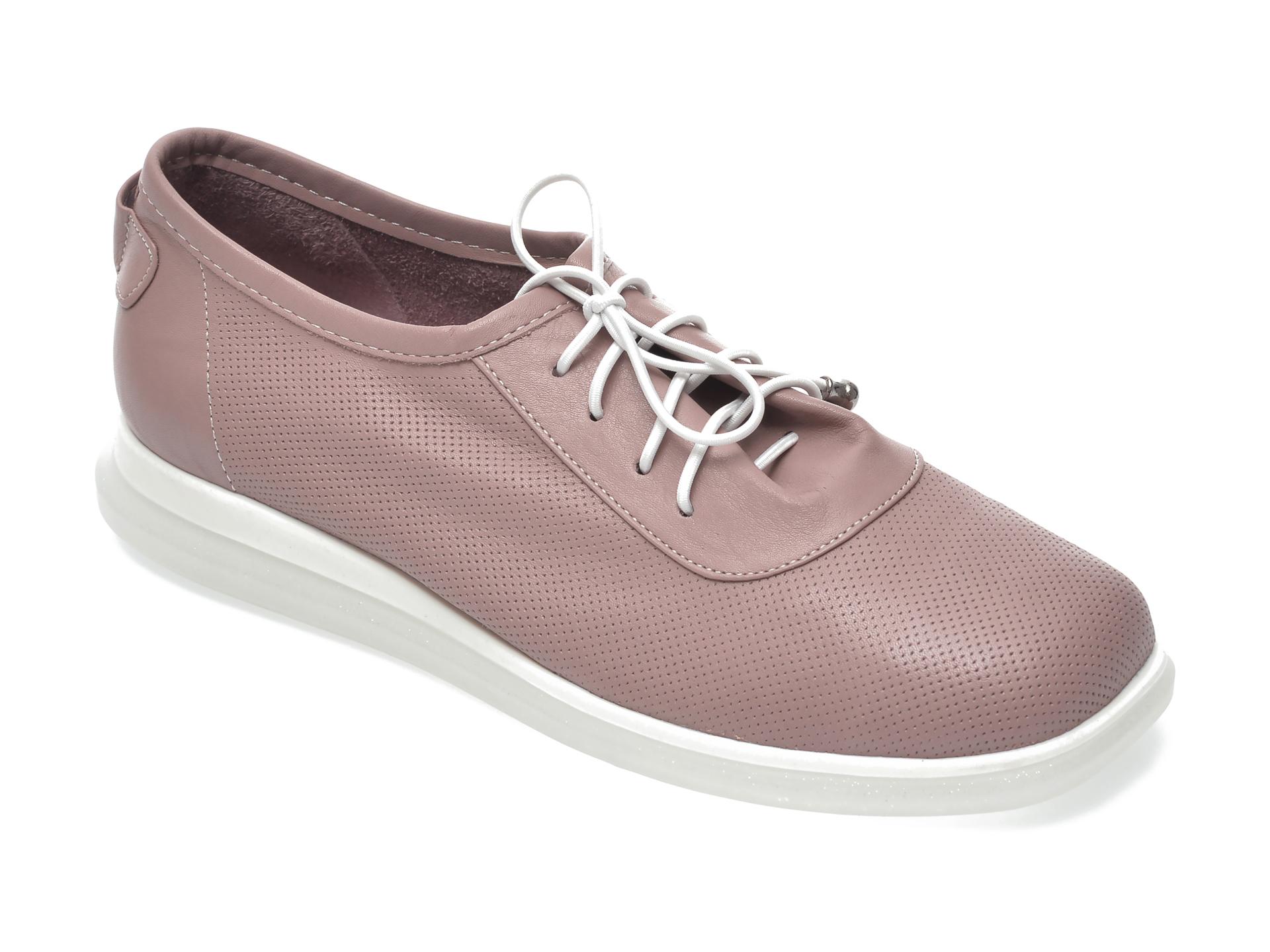 Pantofi FLAVIA PASSINI roz, 1252701, din piele naturala imagine otter.ro