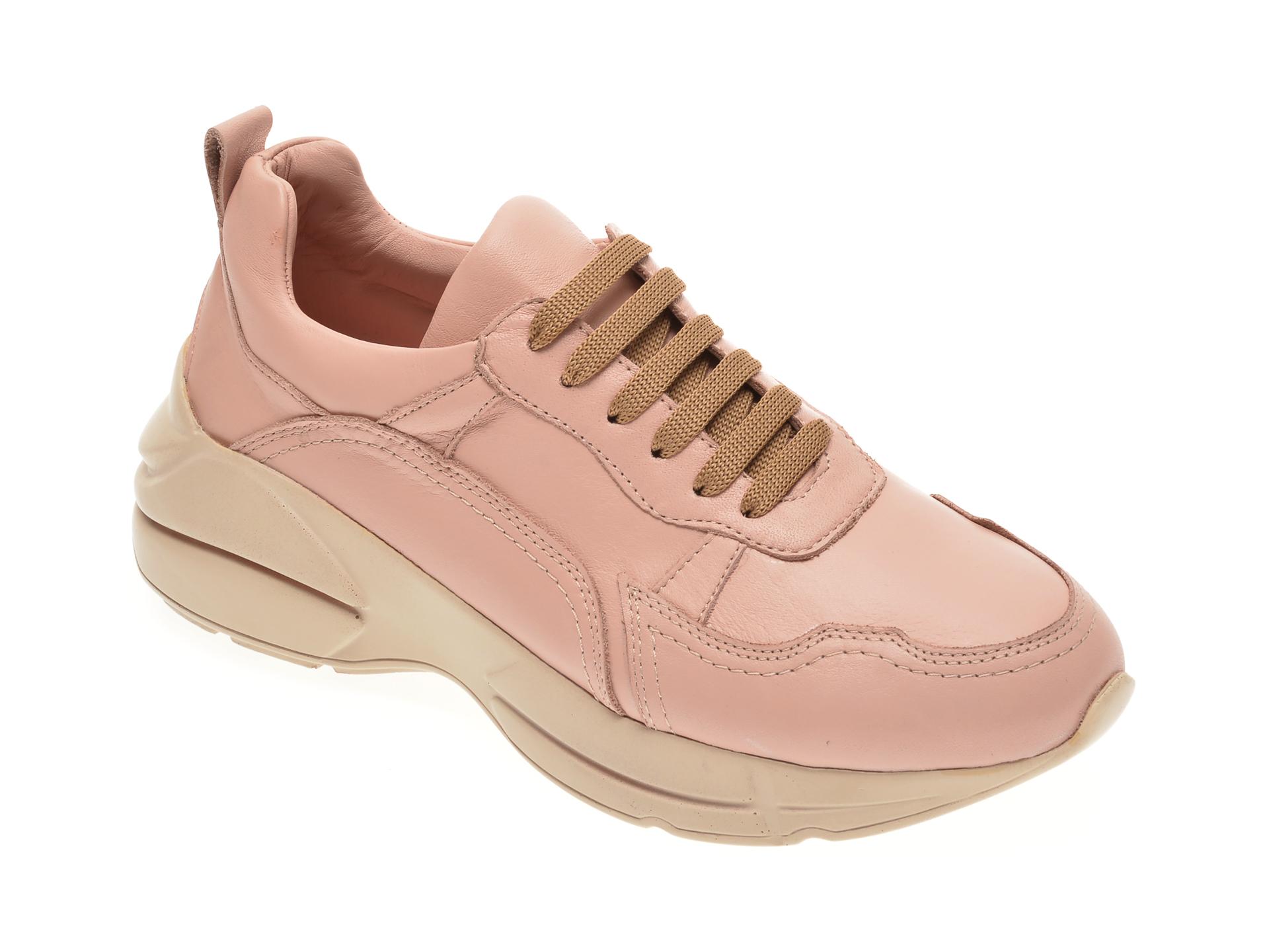 Pantofi FLAVIA PASSINI roz, 125950, din piele naturala