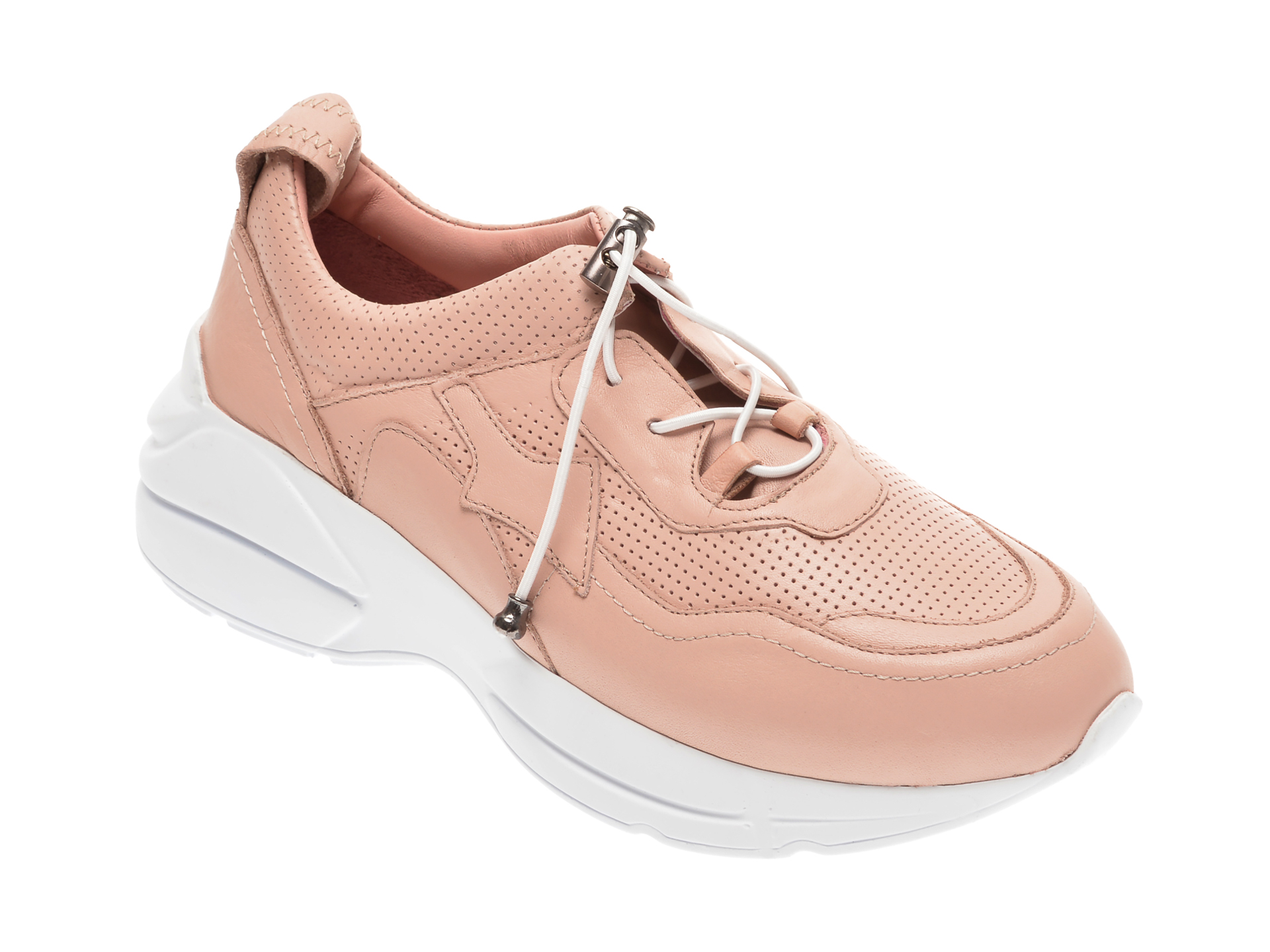 Pantofi FLAVIA PASSINI roz, 125952Z, din piele naturala