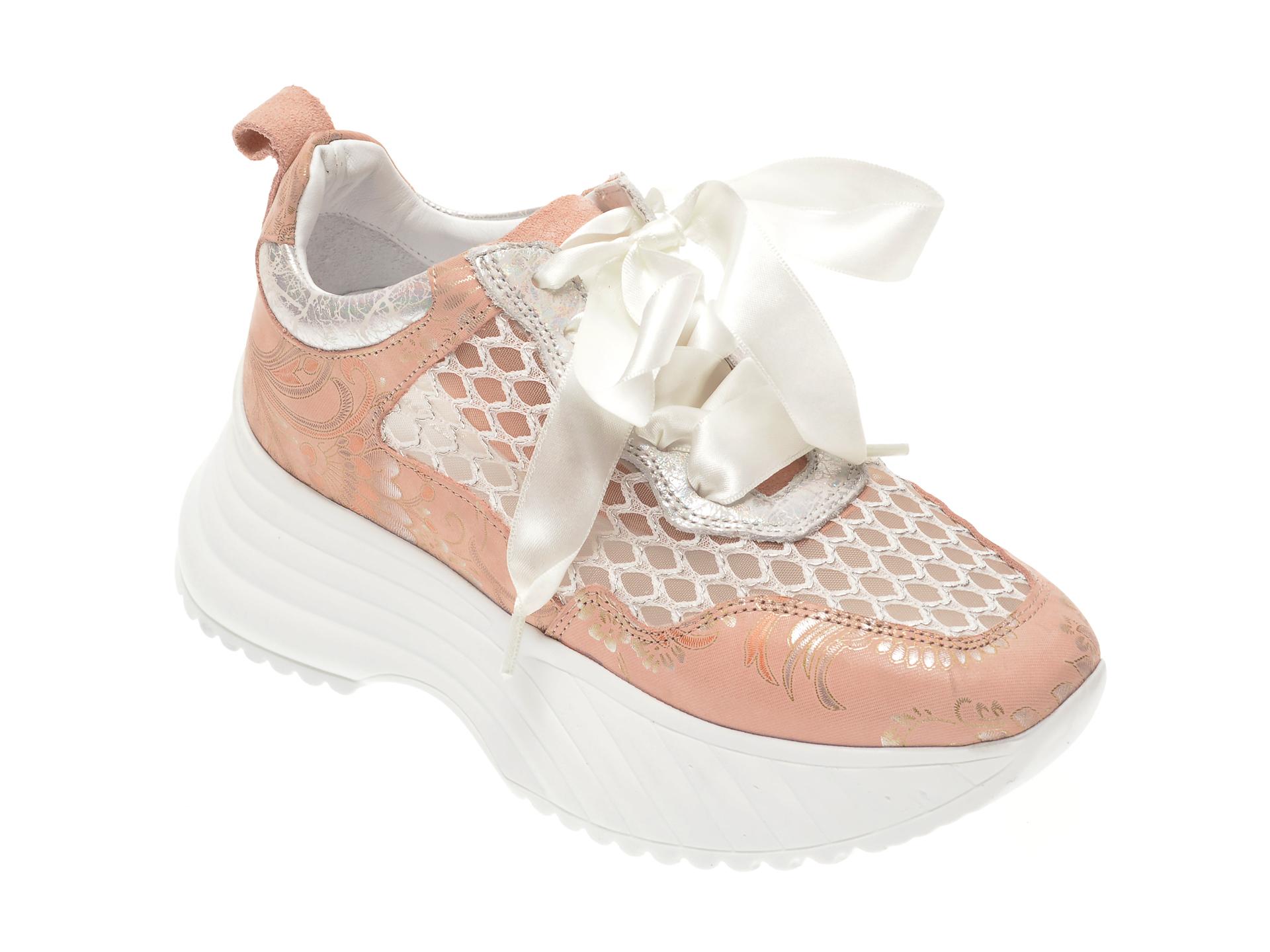Pantofi FLAVIA PASSINI roz, 135P72, din piele naturala