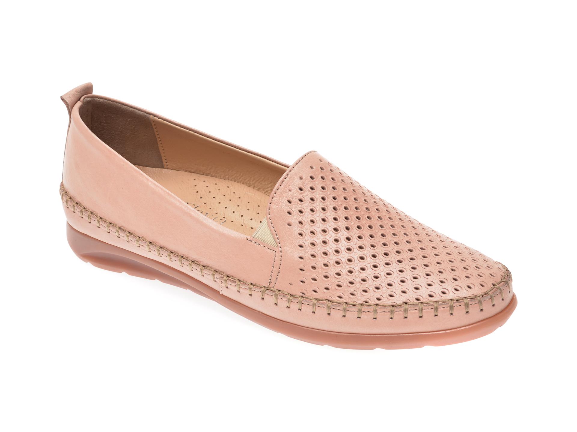 Pantofi FLAVIA PASSINI roz, 19305, din piele naturala