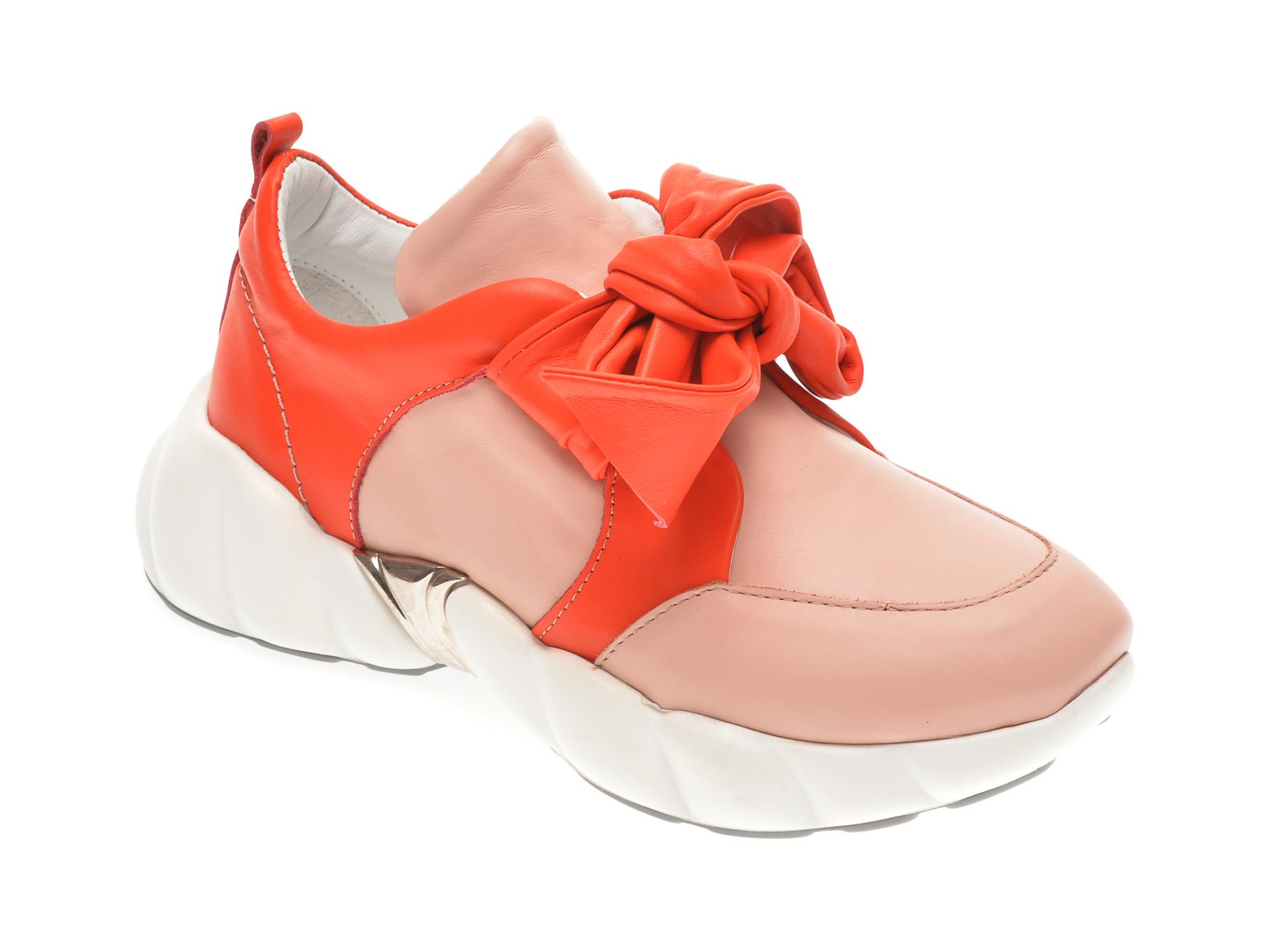 Pantofi FLAVIA PASSINI roz, 291VANN, din piele naturala