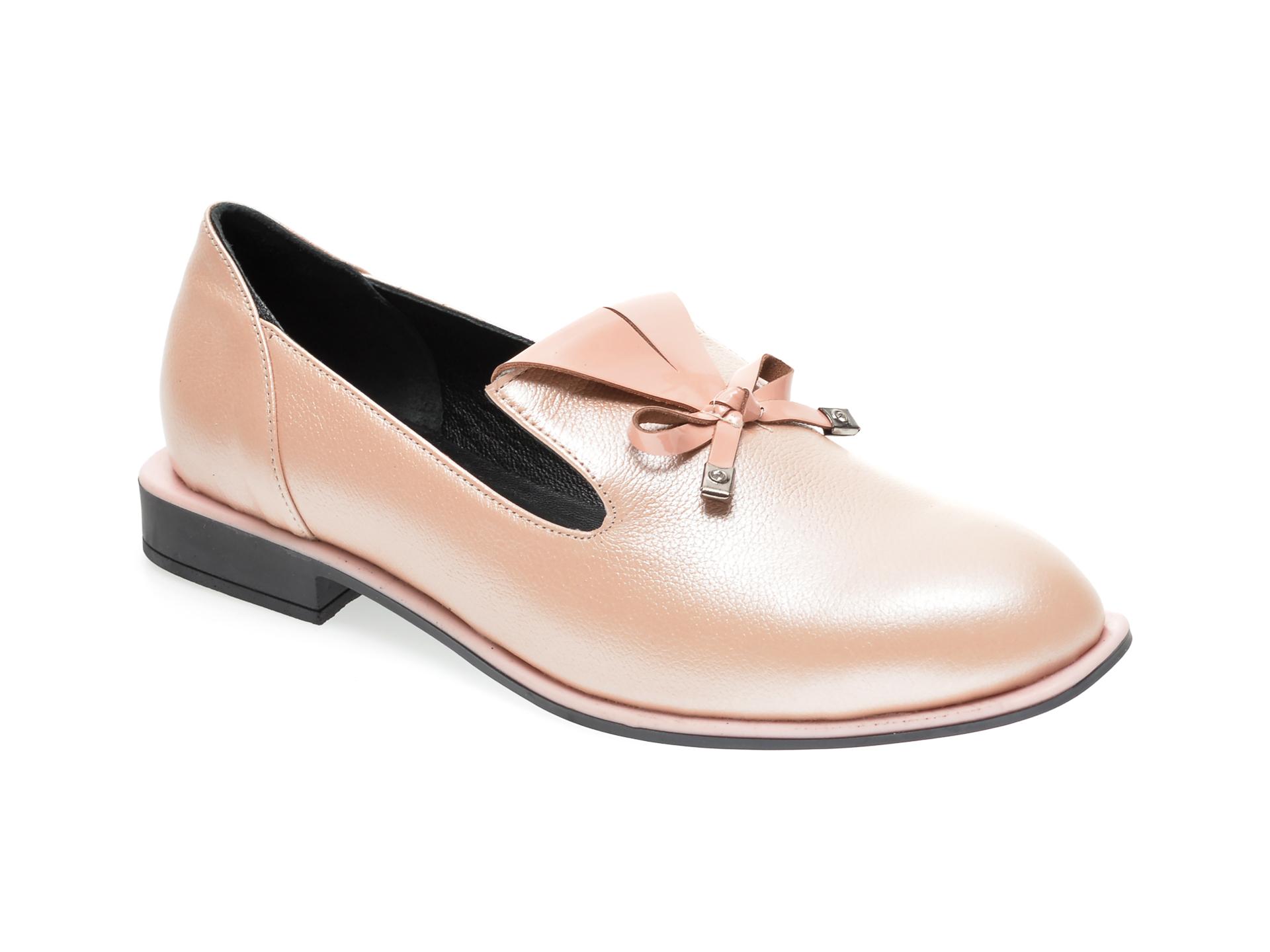 Pantofi FLAVIA PASSINI roz, 372029, din piele naturala