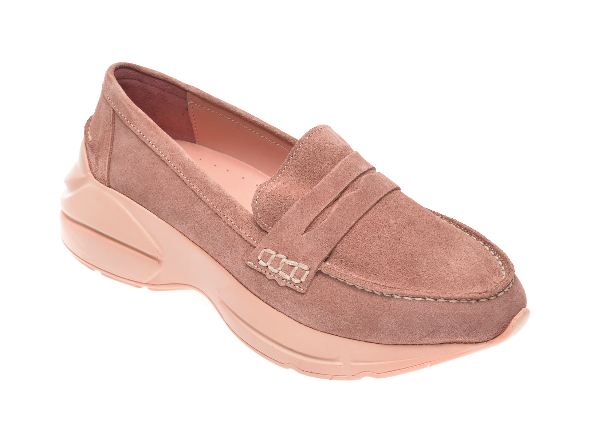 Pantofi FLAVIA PASSINI roz, 402951, din piele intoarsa